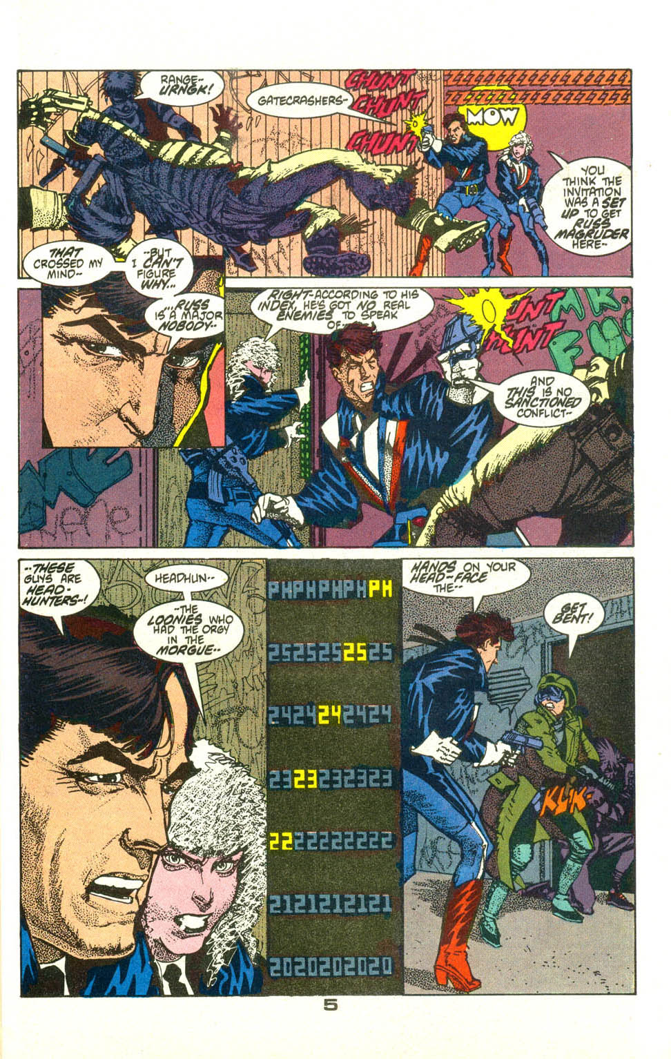 Read online American Flagg! comic -  Issue #21 - 7