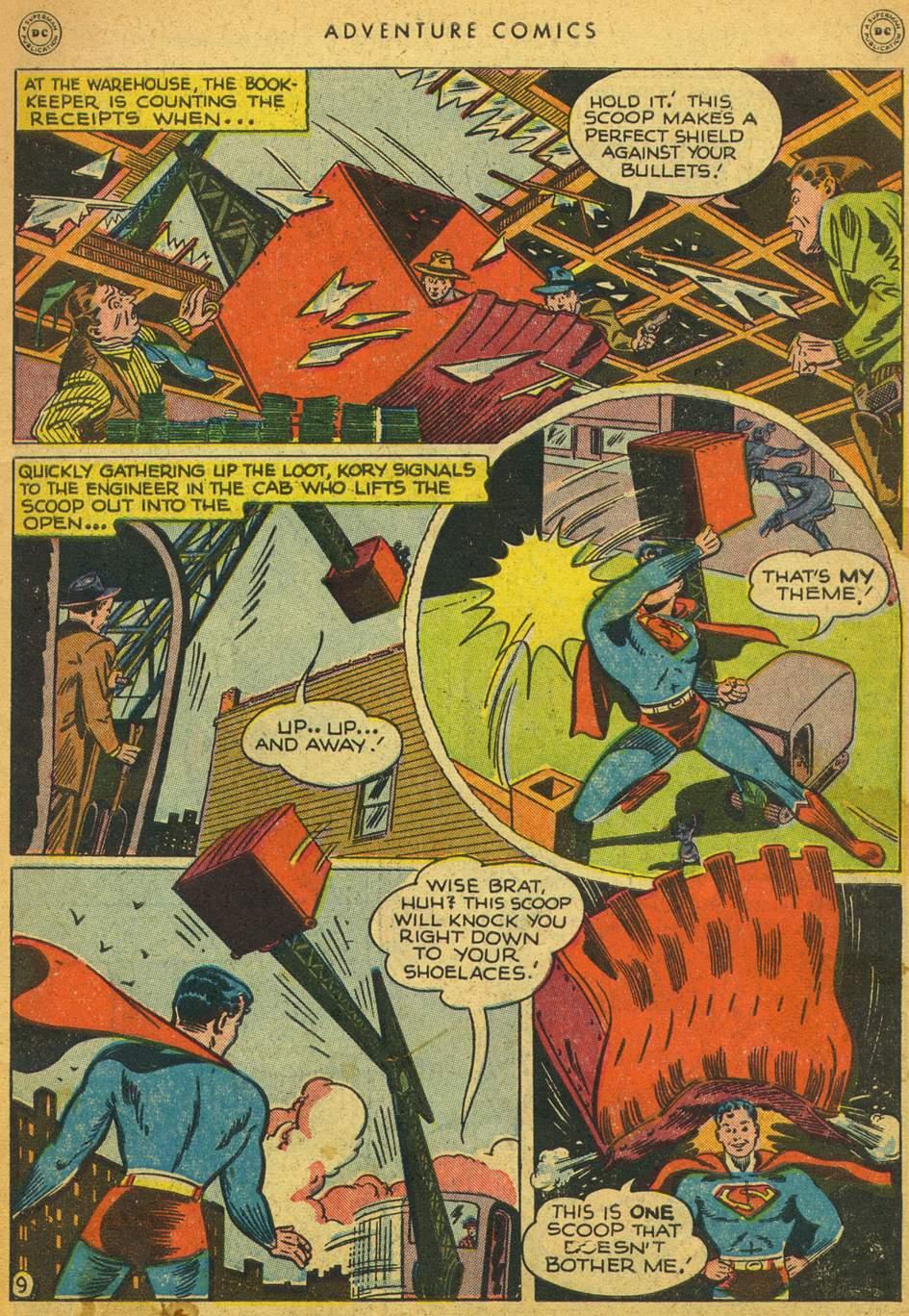Read online Adventure Comics (1938) comic -  Issue #128 - 10