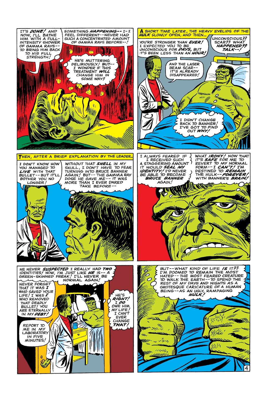 Read online Marvel Masterworks: The Incredible Hulk comic -  Issue # TPB 2 (Part 2) - 71