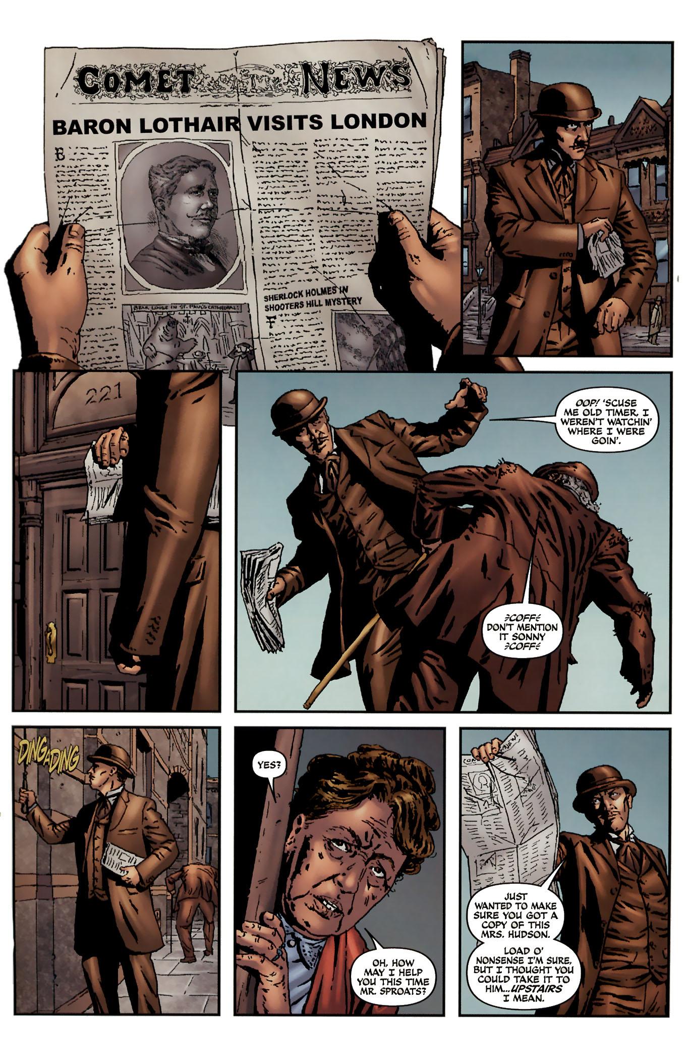 Read online Sherlock Holmes (2009) comic -  Issue #3 - 18