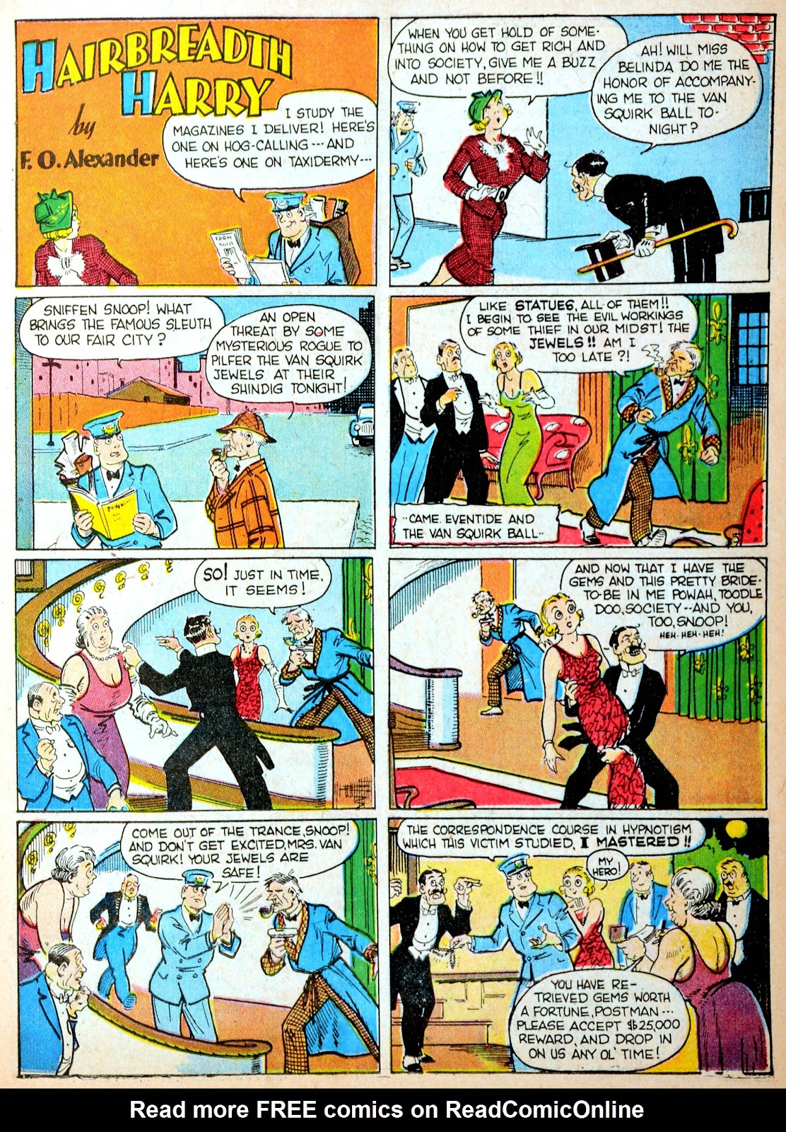 Read online Famous Funnies comic -  Issue #88 - 19