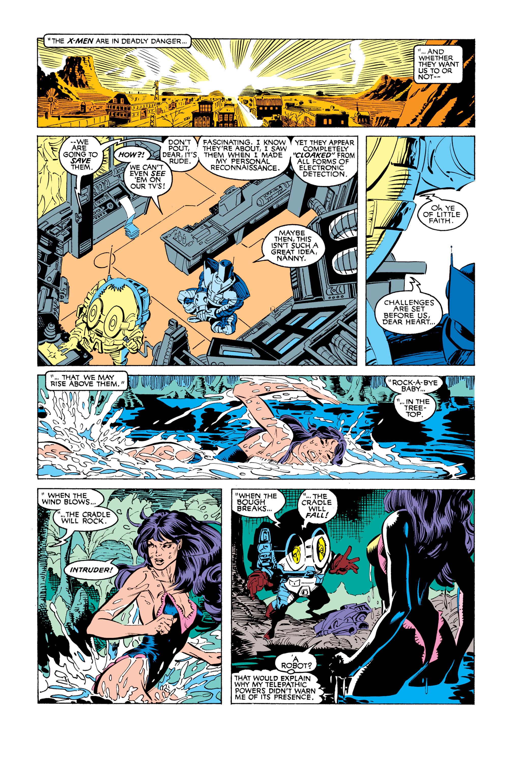 Read online Uncanny X-Men (1963) comic -  Issue #248 - 10