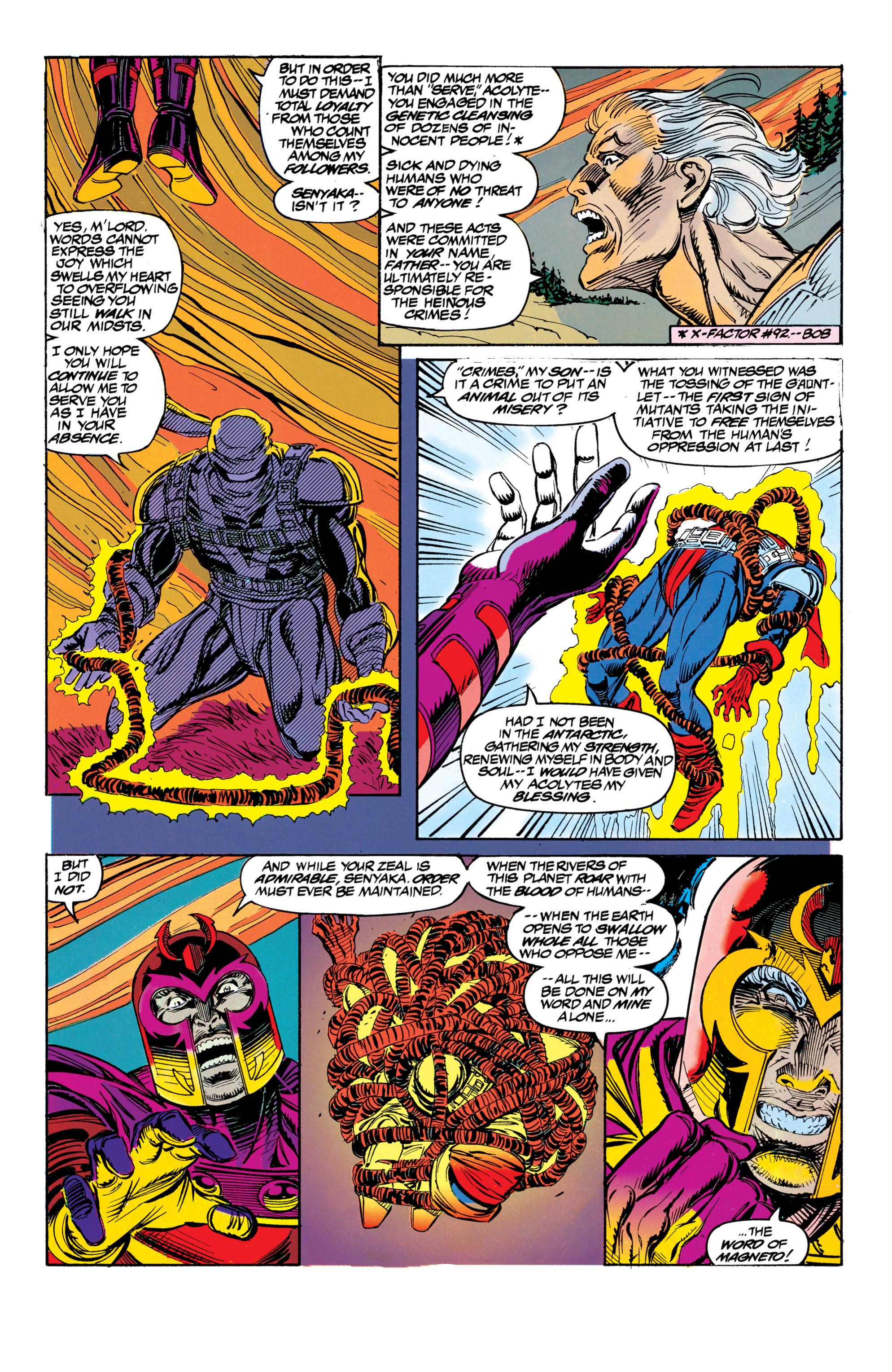 Read online Uncanny X-Men (1963) comic -  Issue #304 - 30