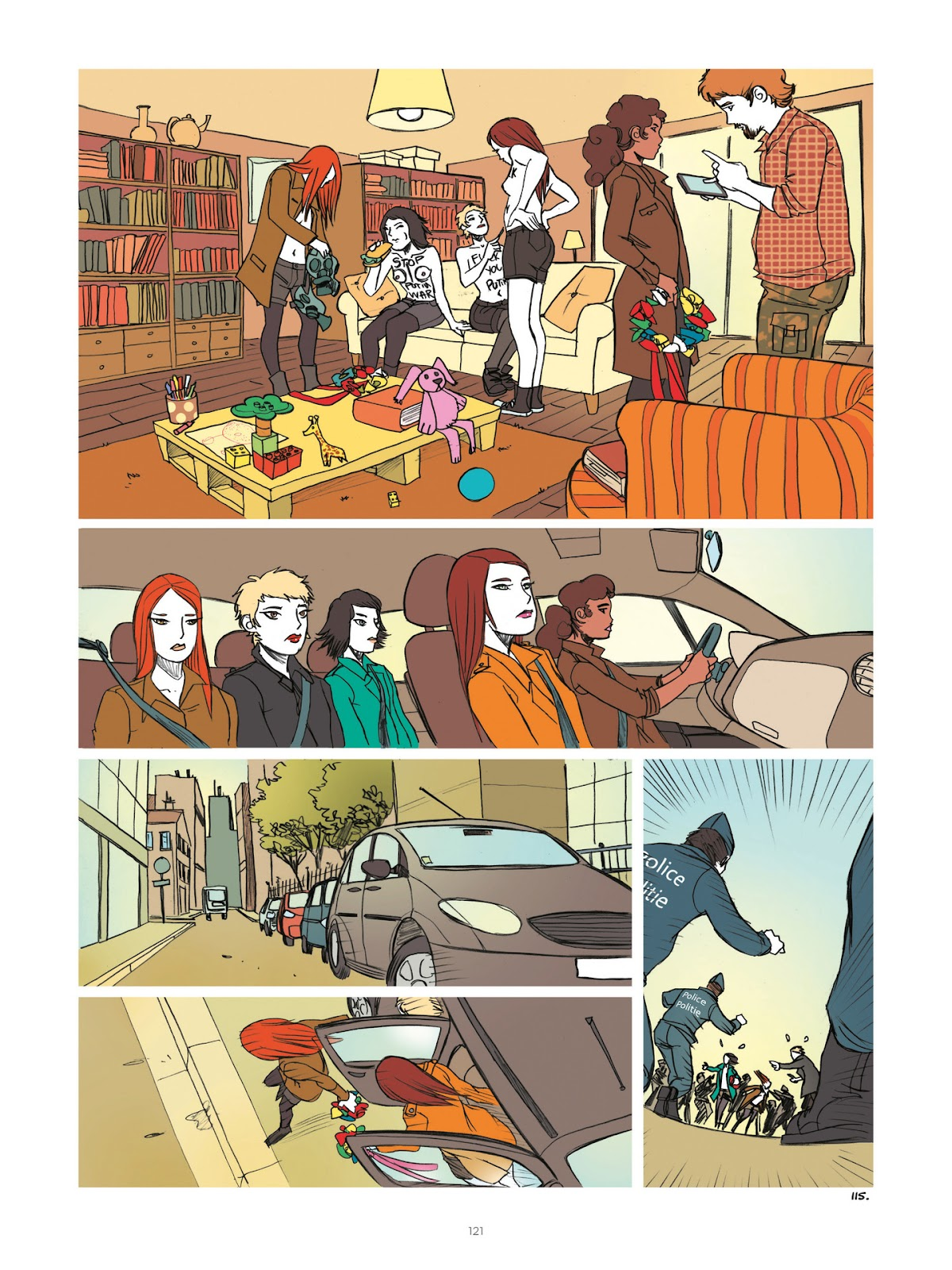 Read online Diary of A Femen comic -  Issue # TPB - 123