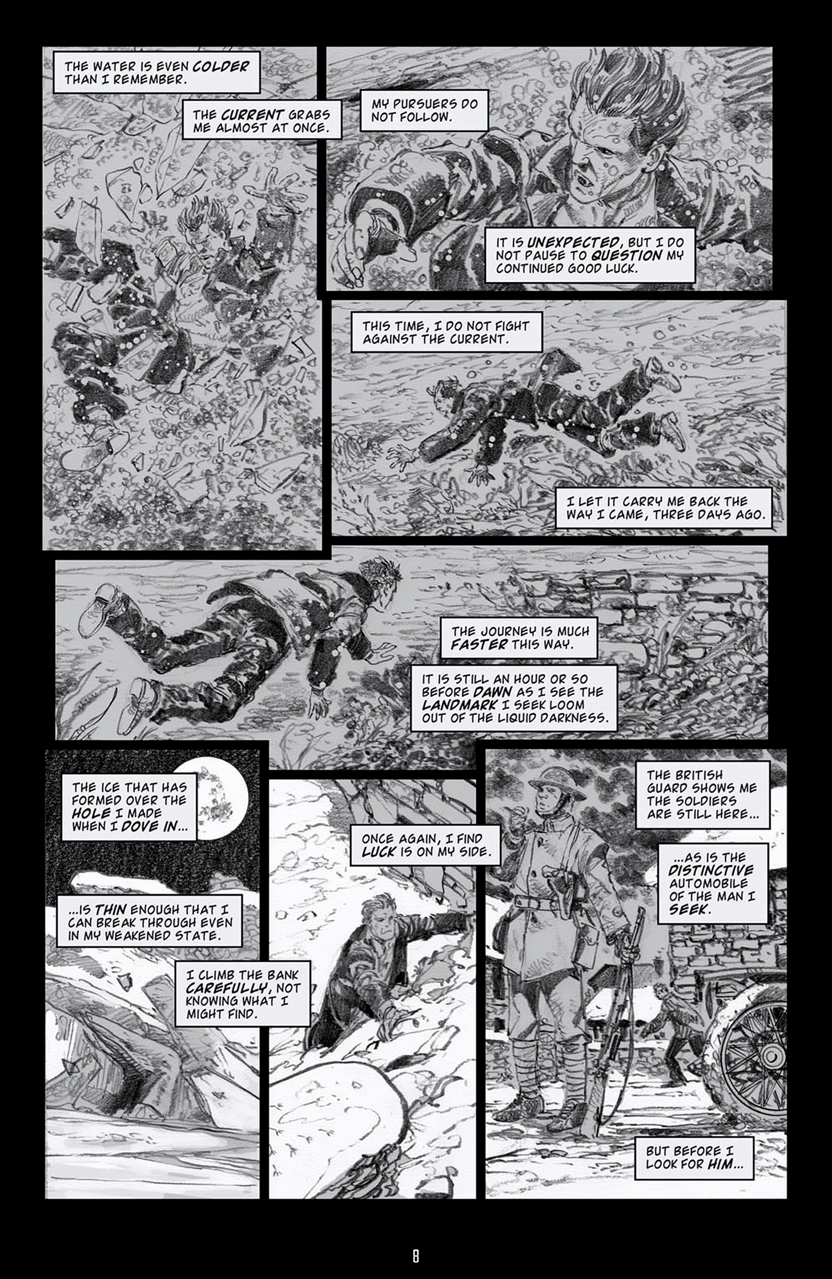 Read online Angel: Blood & Trenches comic -  Issue #4 - 11