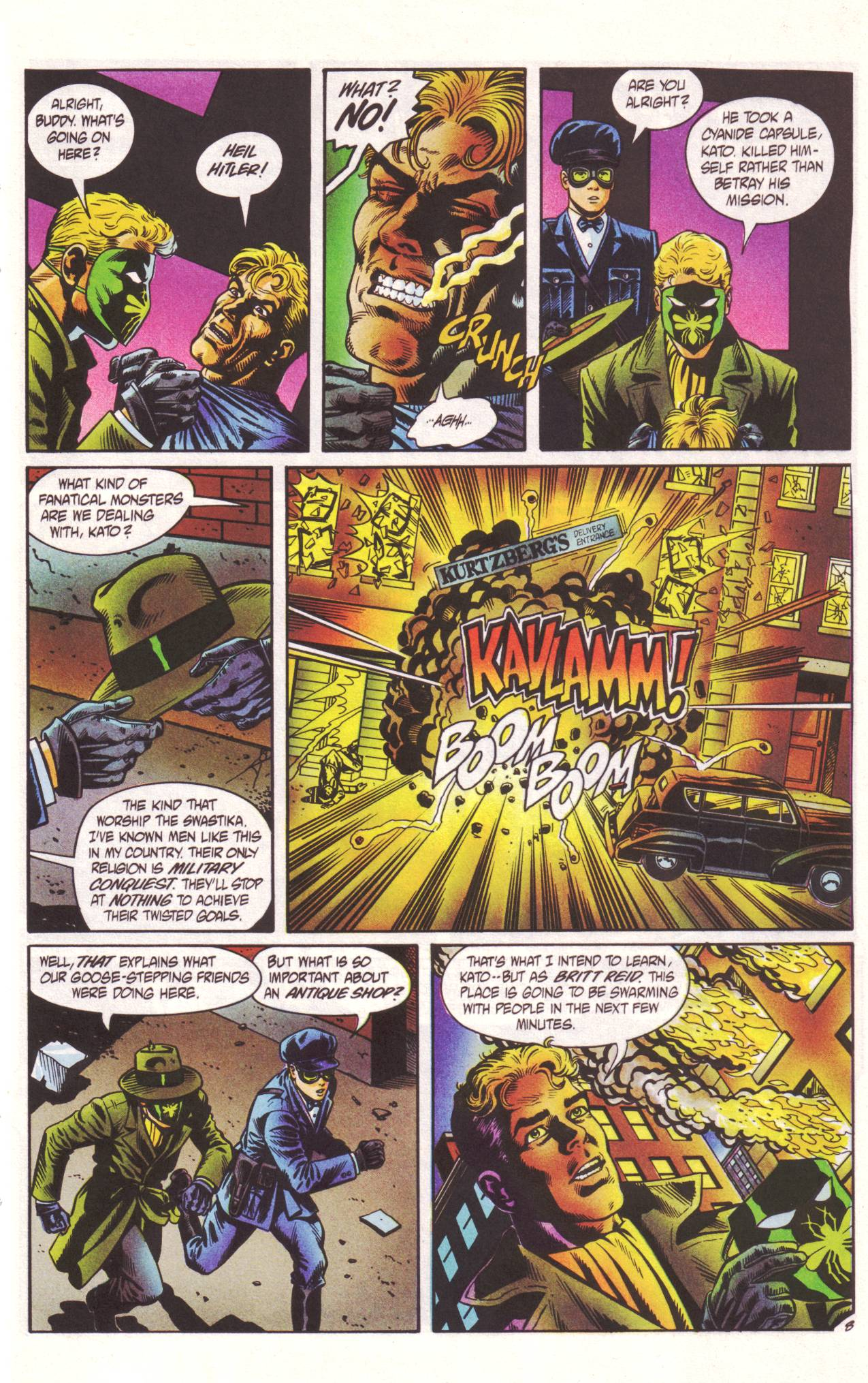 Read online Sting of The Green Hornet comic -  Issue #2 - 9