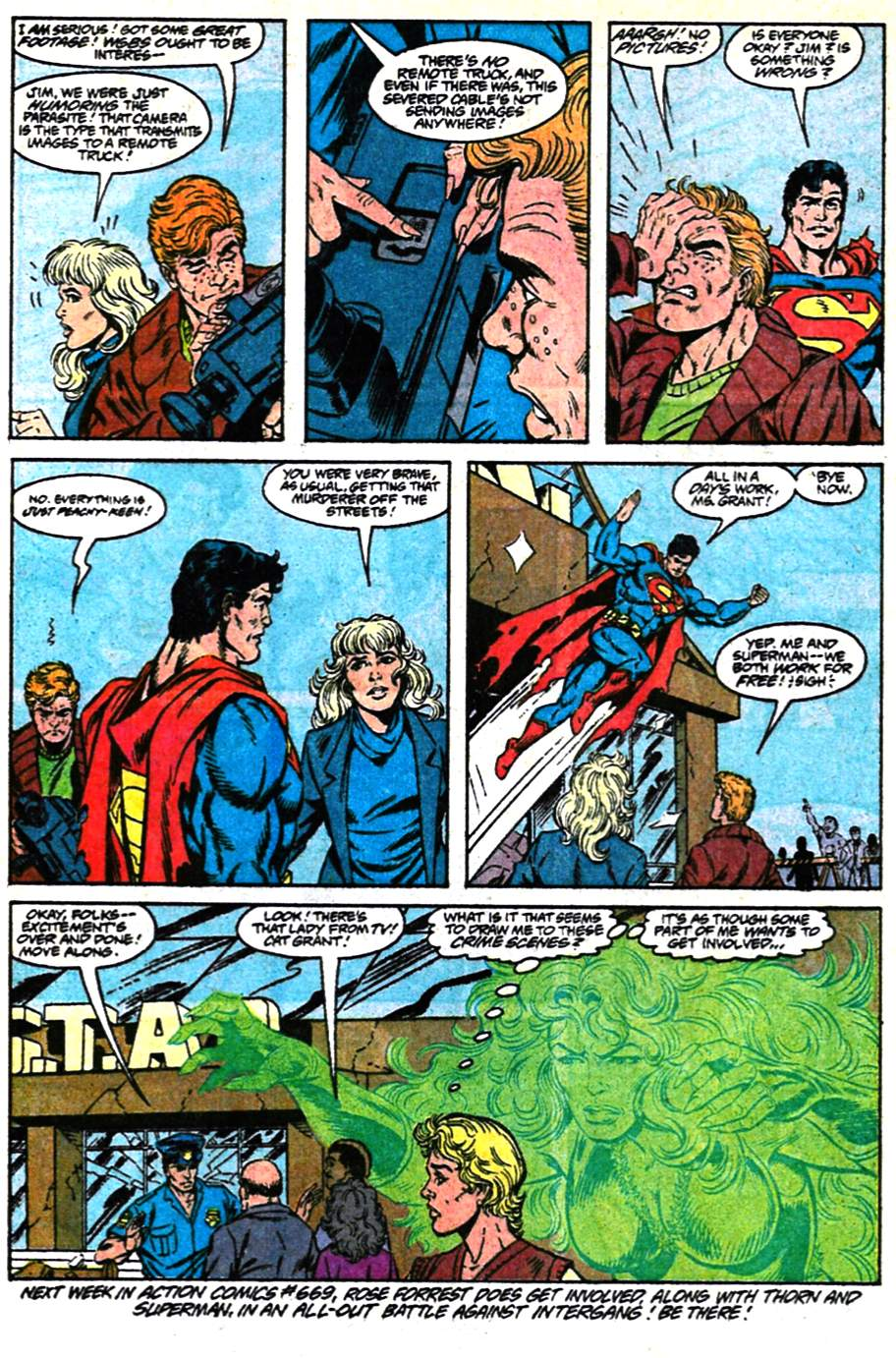 Read online Adventures of Superman (1987) comic -  Issue #482 - 23