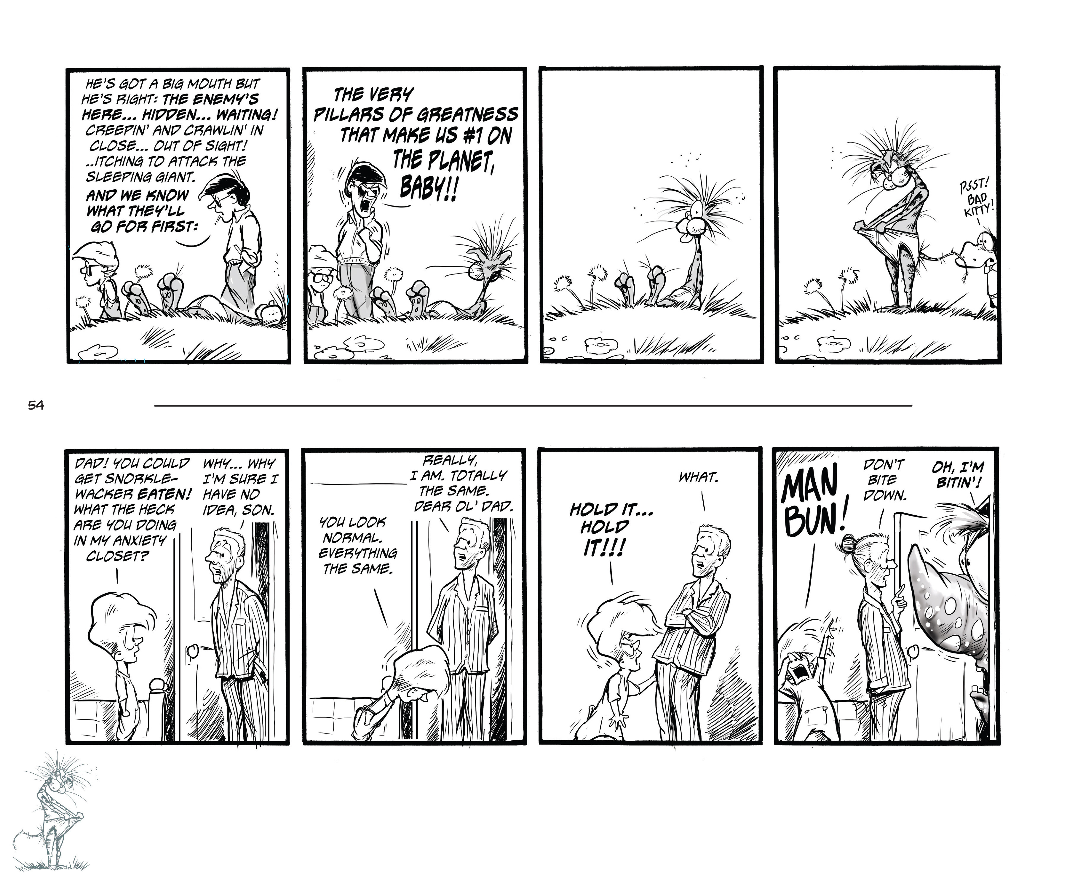 Read online Bloom County Episode XI: A New Hope comic -  Issue # Full - 56