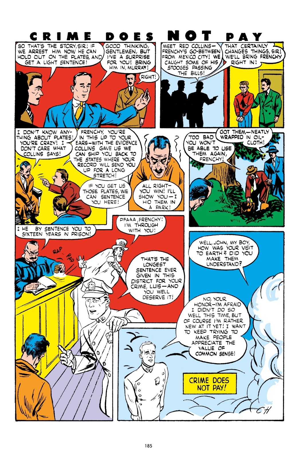 Read online Crime Does Not Pay Archives comic -  Issue # TPB 5 (Part 2) - 85