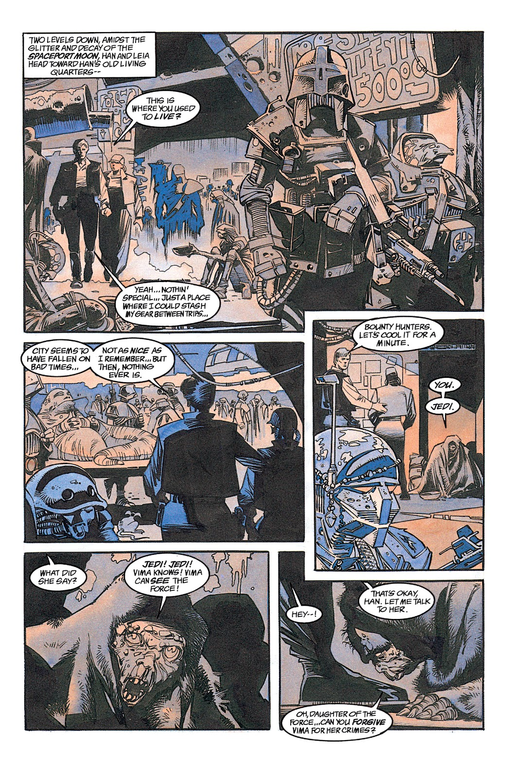 Read online Star Wars: Dark Empire Trilogy comic -  Issue # TPB (Part 1) - 78