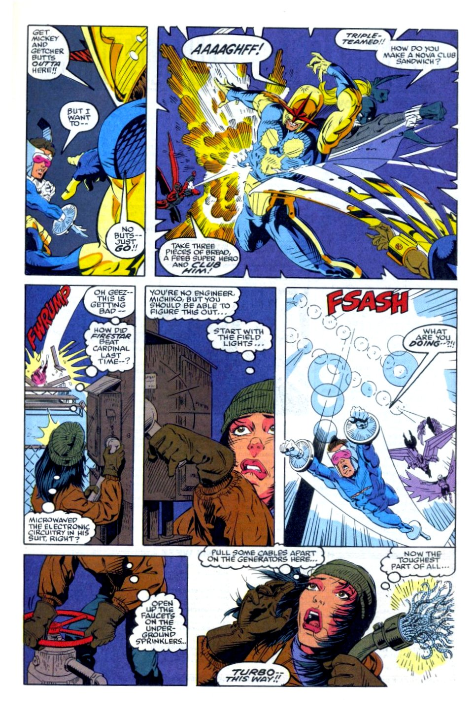 The New Warriors Issue #35 #39 - English 20
