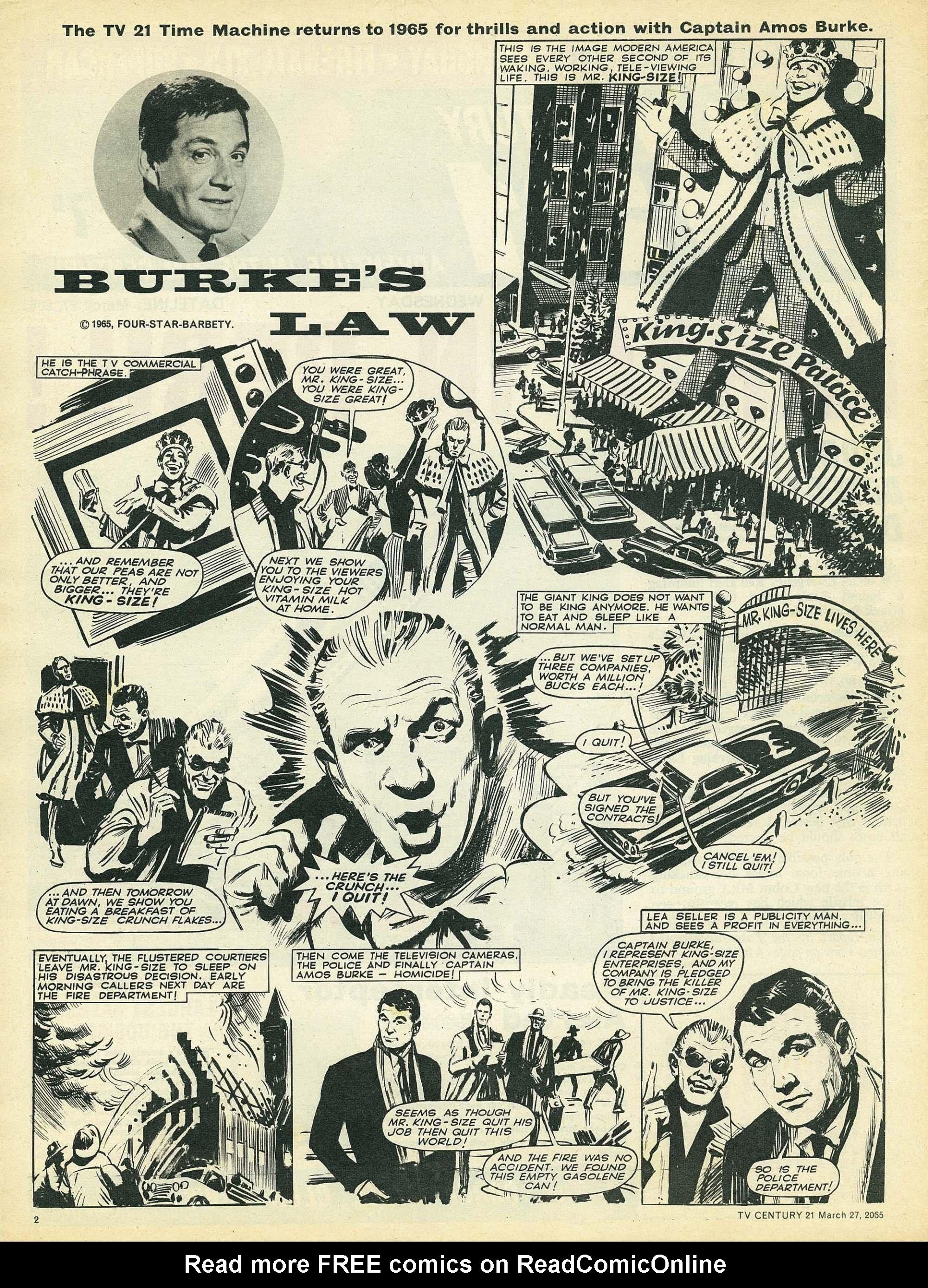 Read online TV Century 21 (TV 21) comic -  Issue #10 - 2