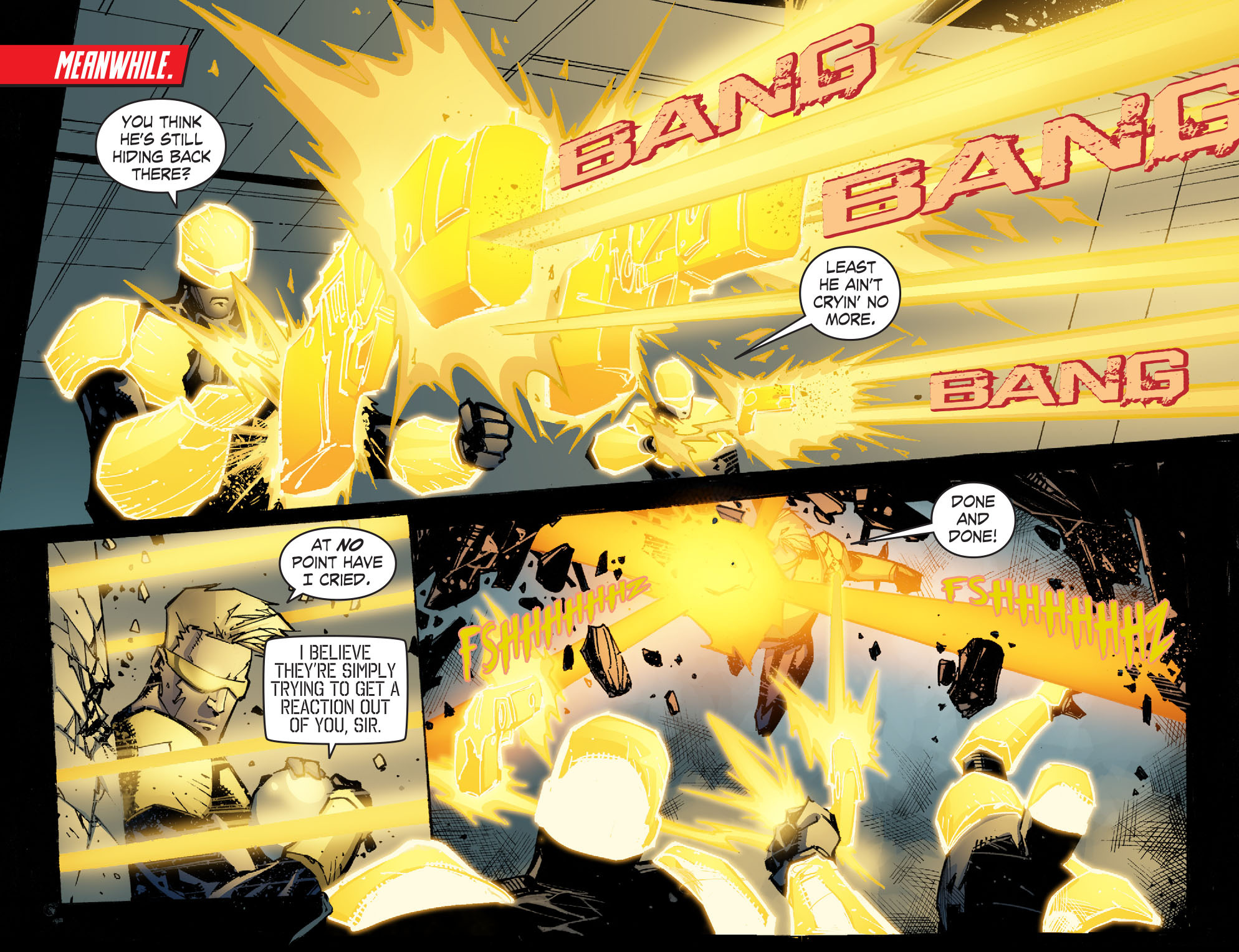 Read online Smallville: Chaos [II] comic -  Issue #6 - 7