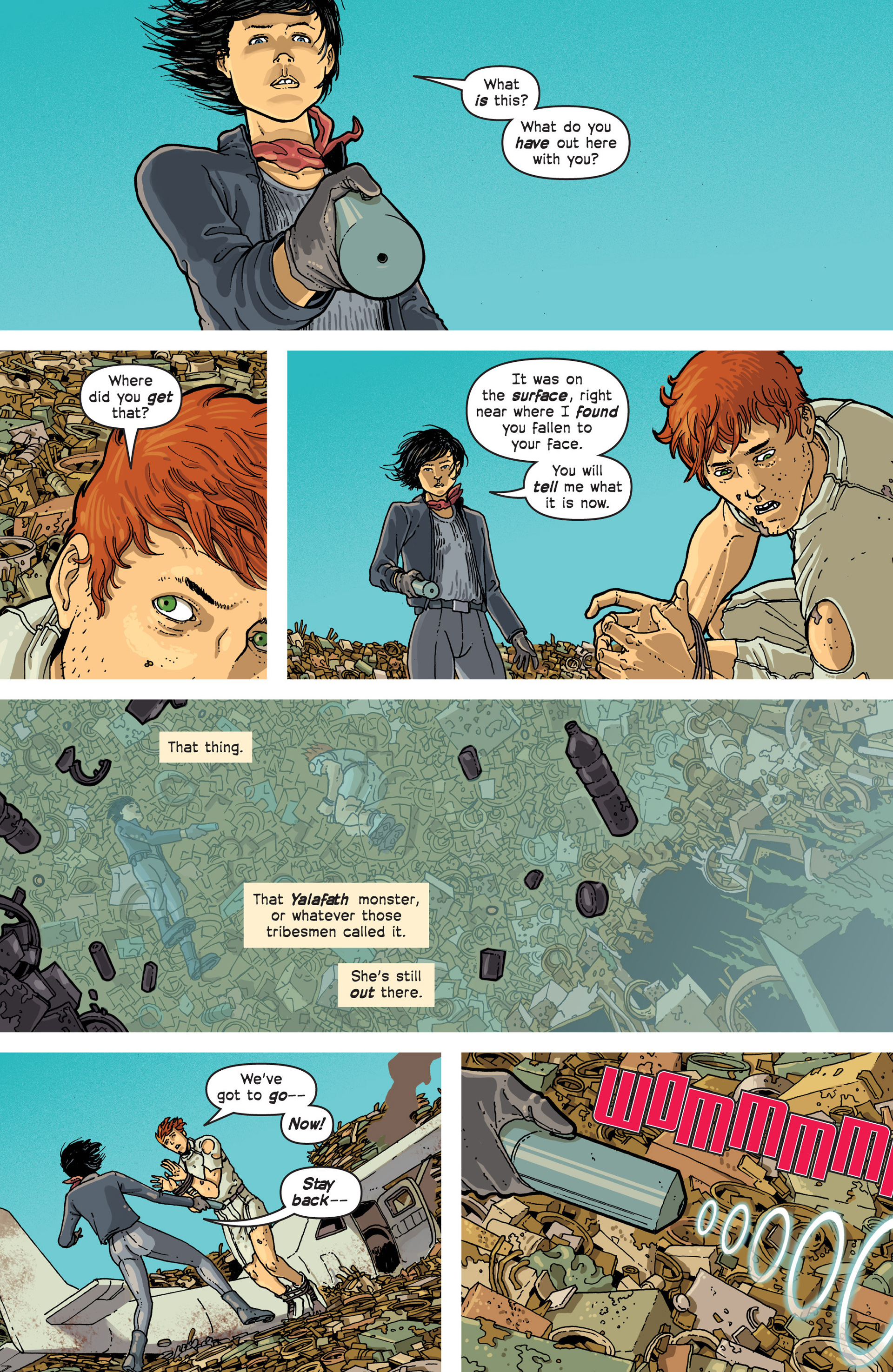 Read online Great Pacific comic -  Issue #3 - 21