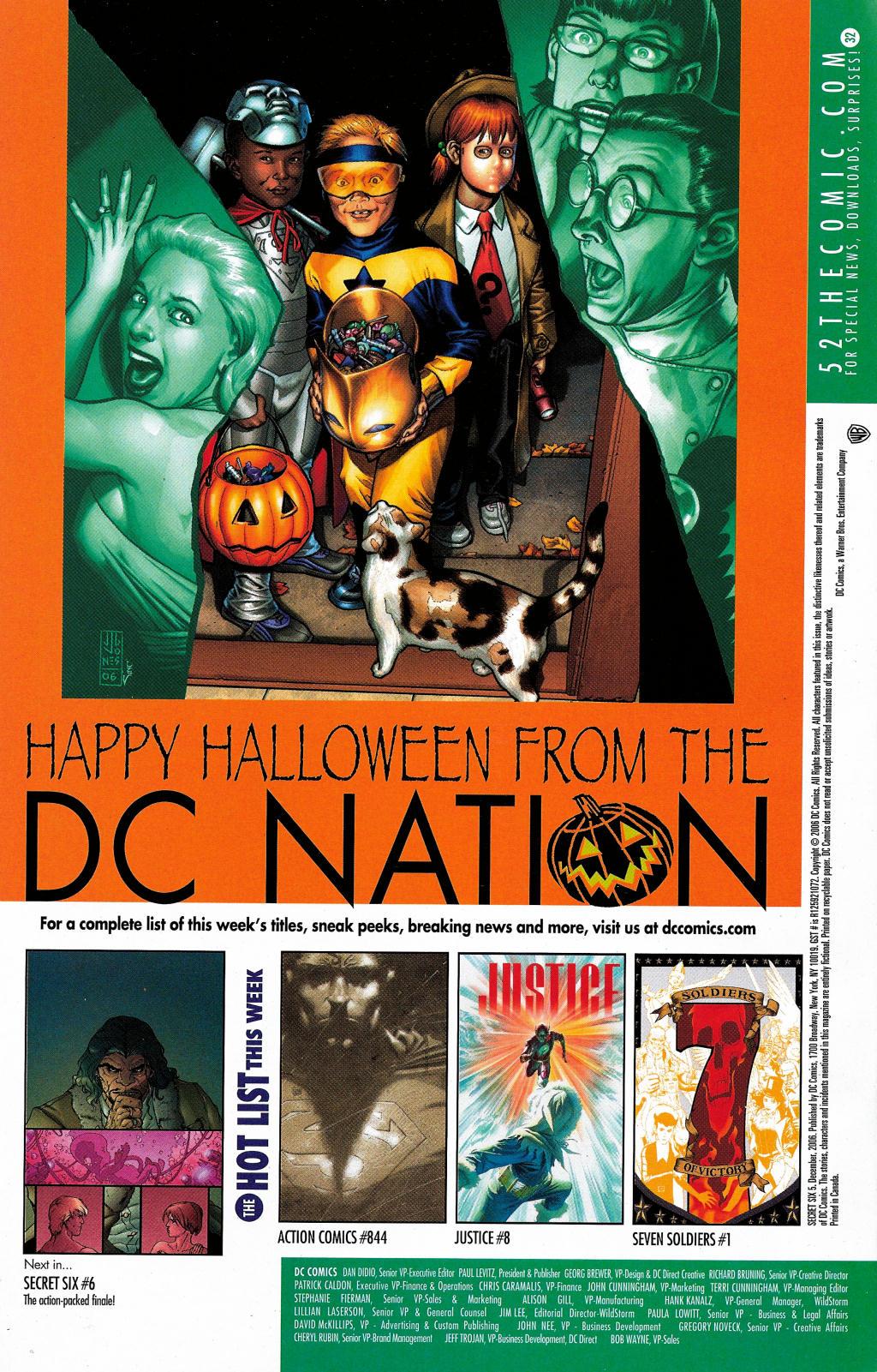 Read online Secret Six (2006) comic -  Issue #5 - 37