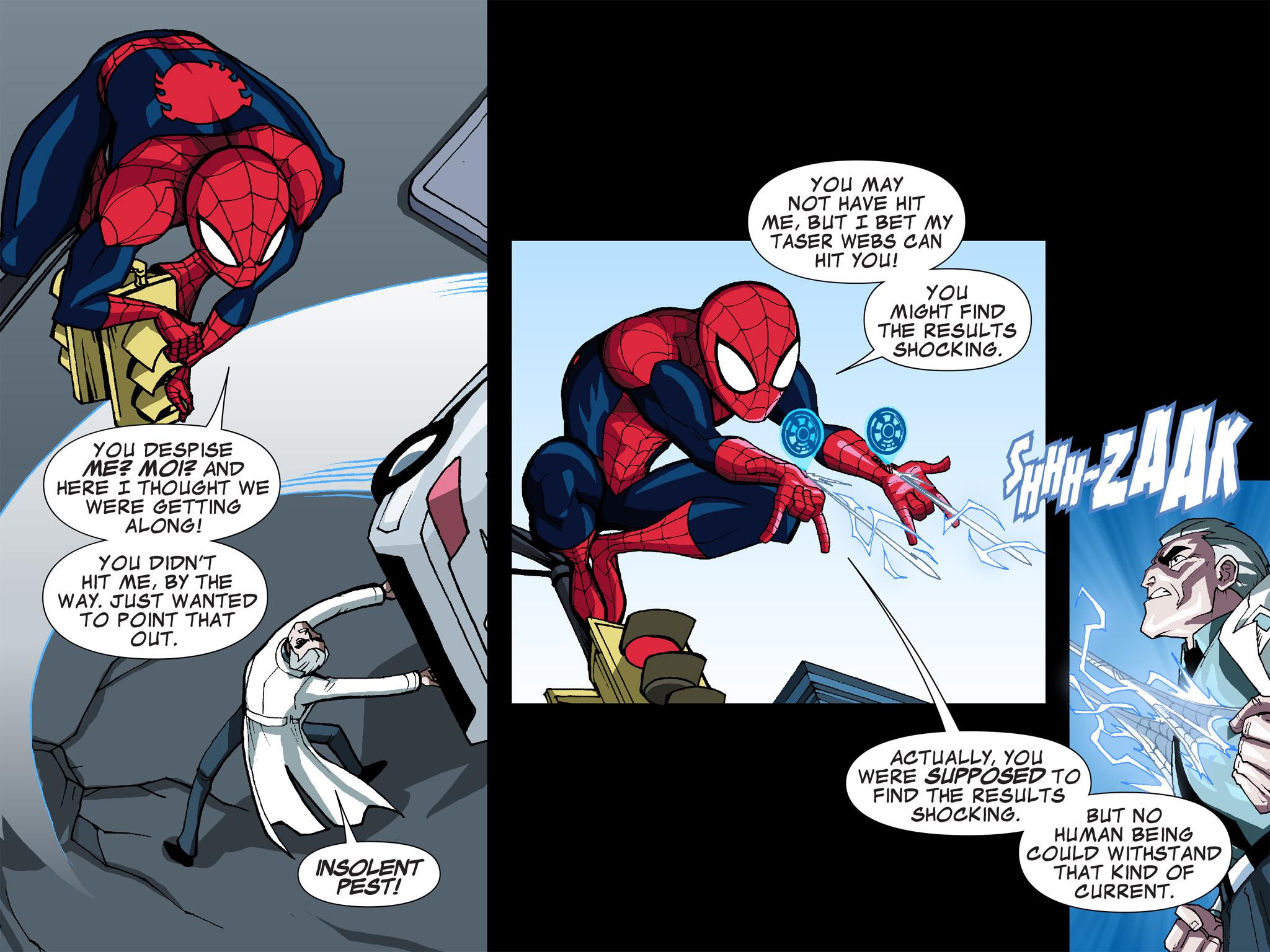 Read online Ultimate Spider-Man (Infinite Comics) (2015) comic -  Issue #5 - 24