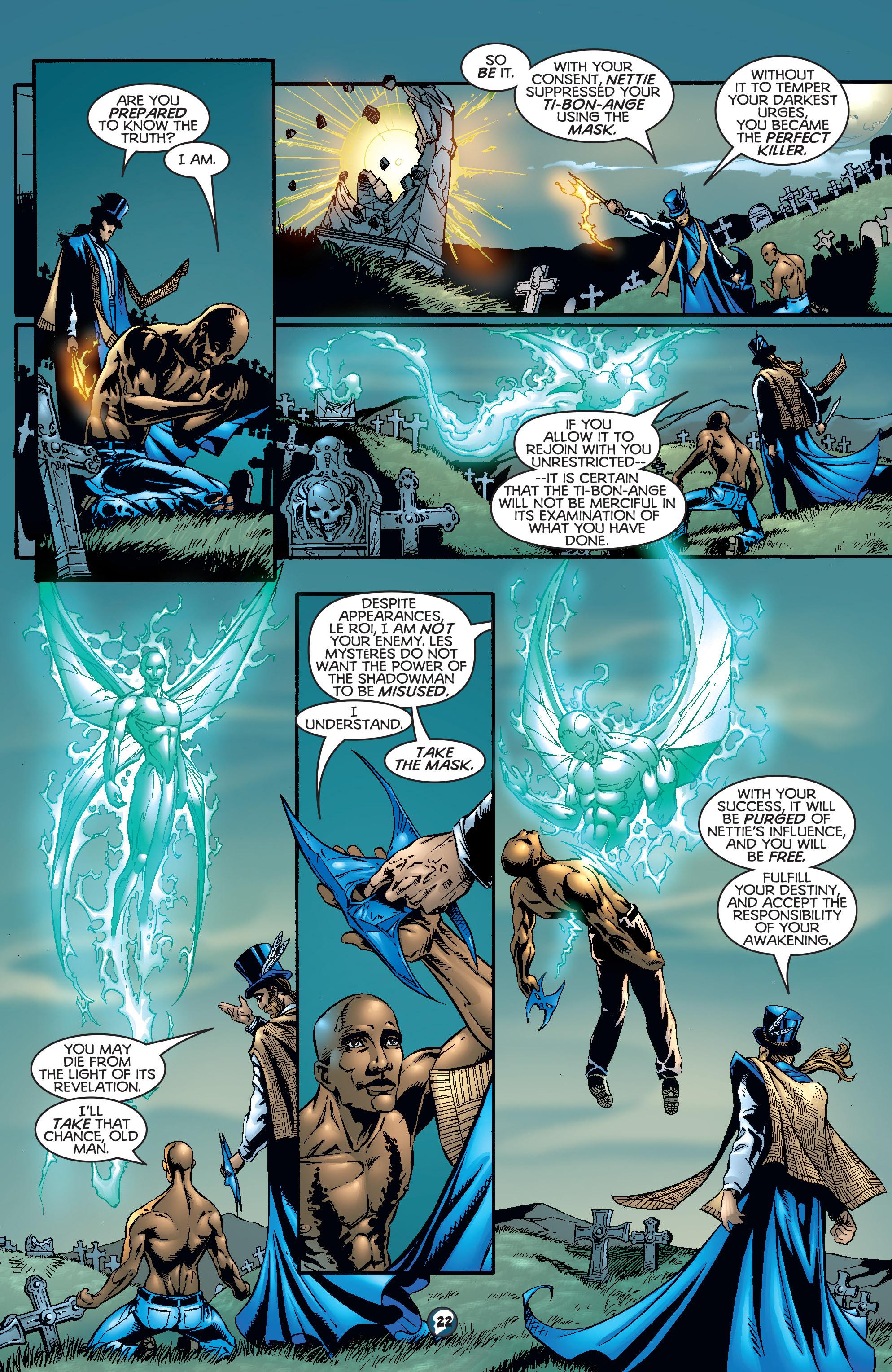 Read online Shadowman (1997) comic -  Issue #17 - 18
