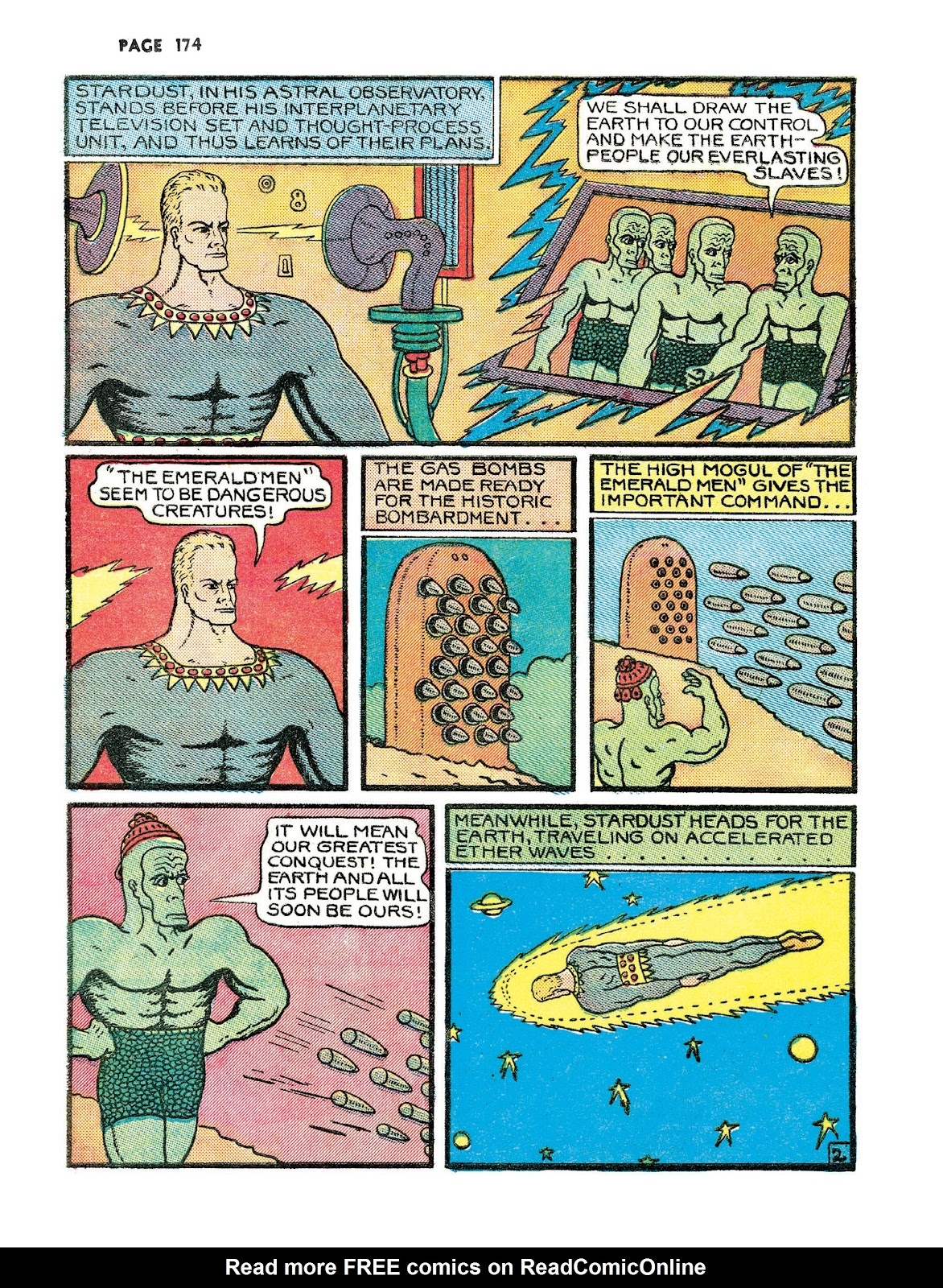 Turn Loose Our Death Rays and Kill Them All!: The Complete Works of Fletcher Hanks issue TPB_(Part_3) - Page 6