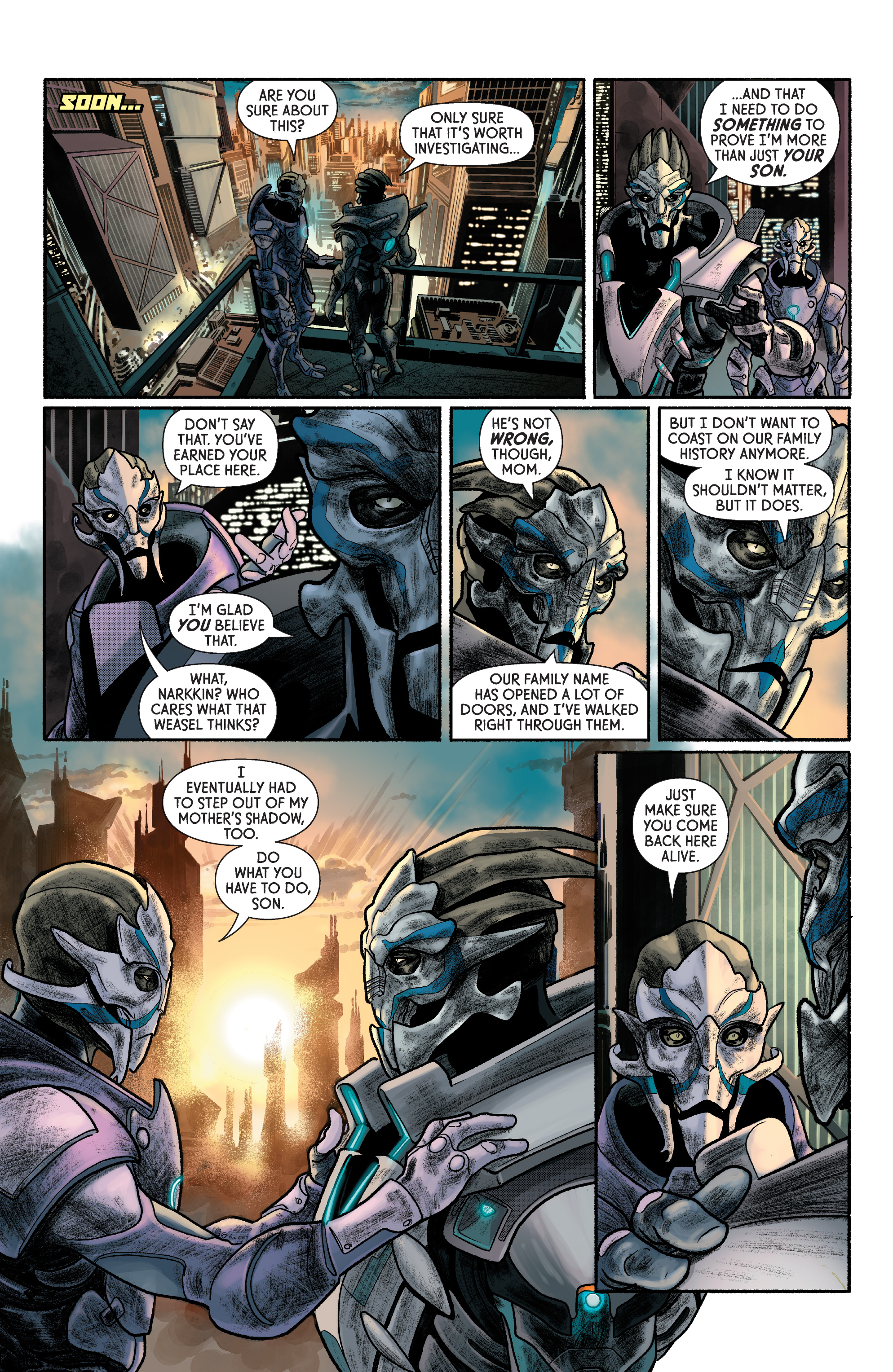 Read online Mass Effect: Discovery comic -  Issue #1 - 12