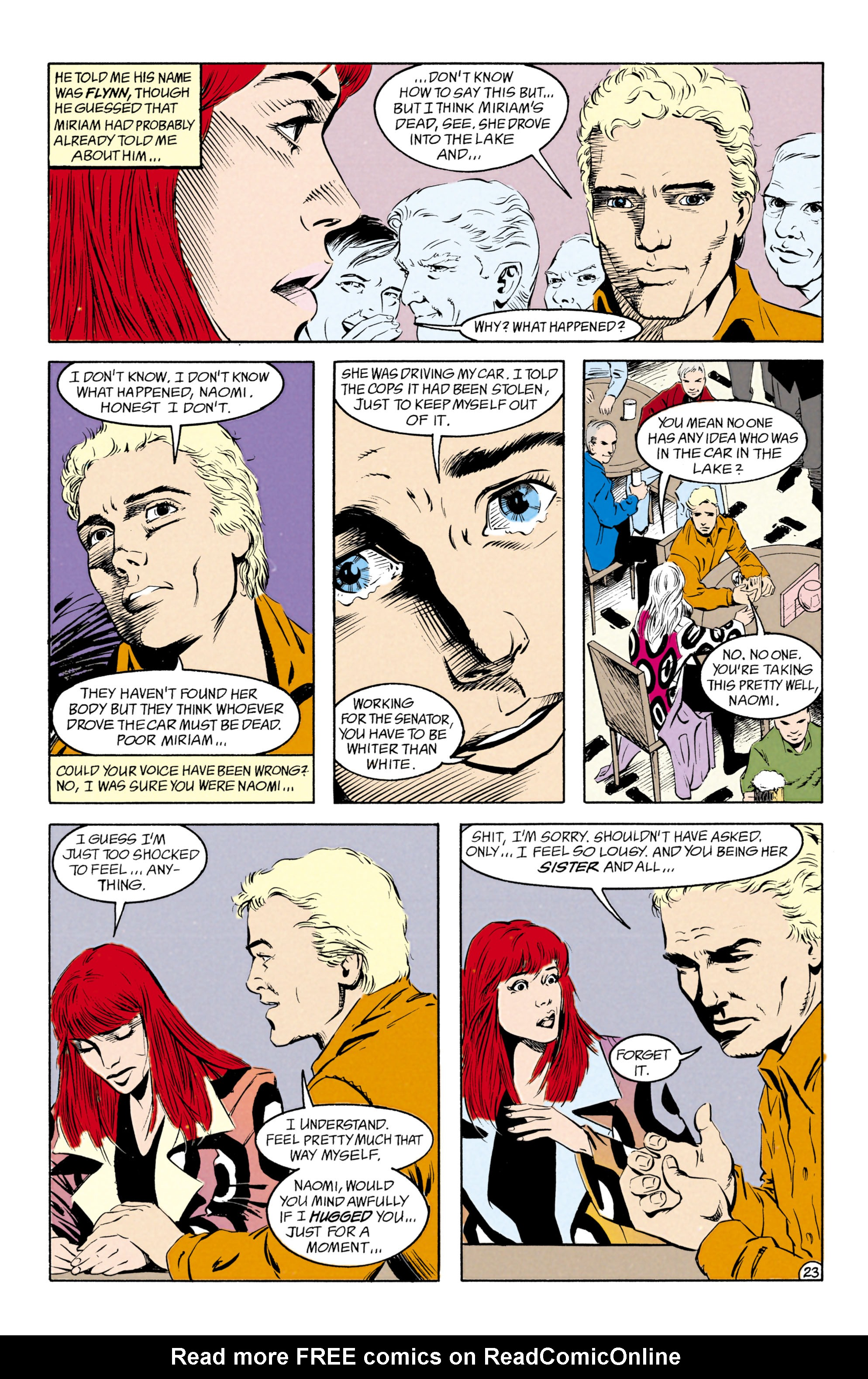 Read online Shade, the Changing Man comic -  Issue #27 - 24