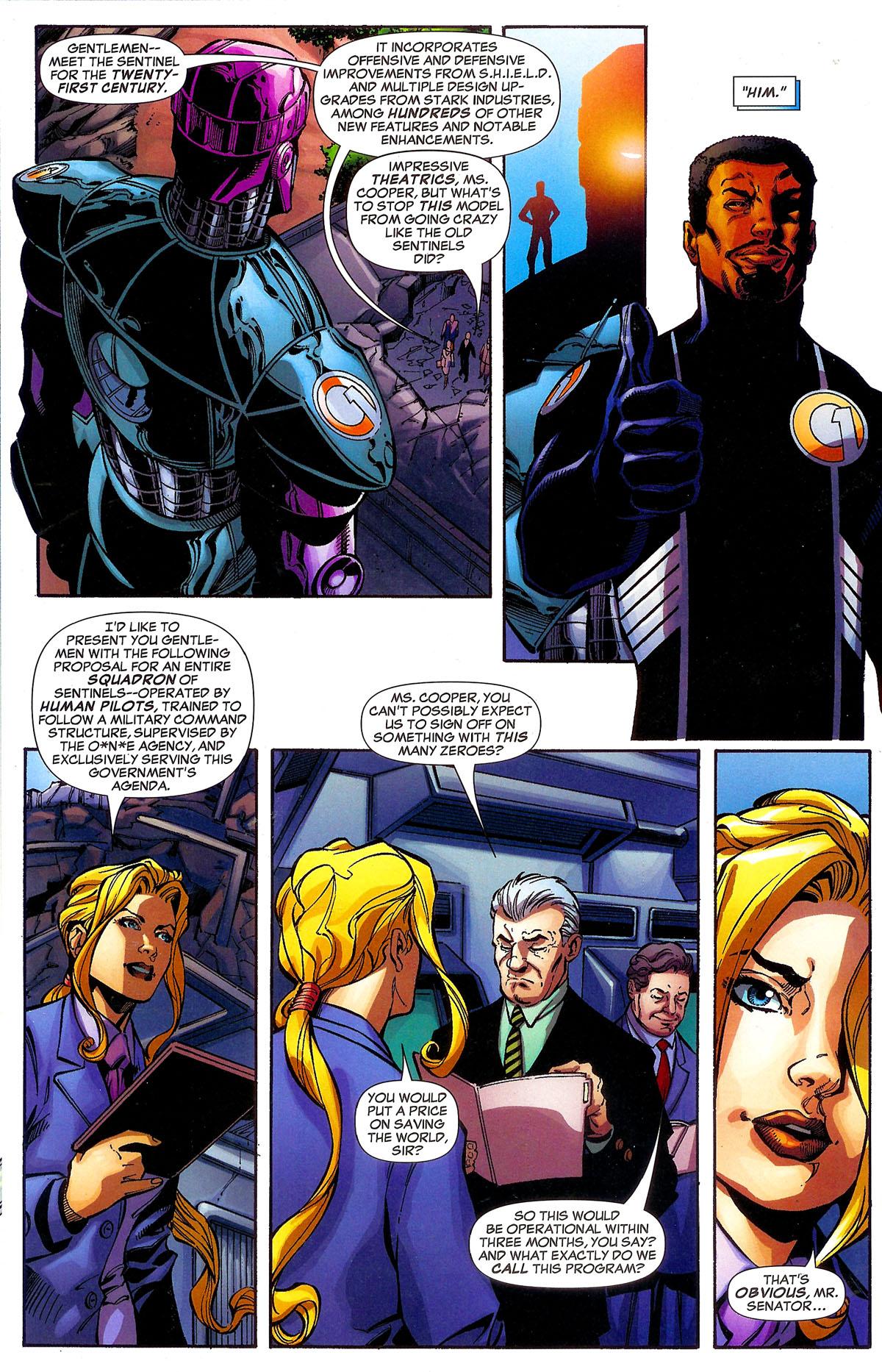 Read online Sentinel Squad O*N*E comic -  Issue #1 - 8