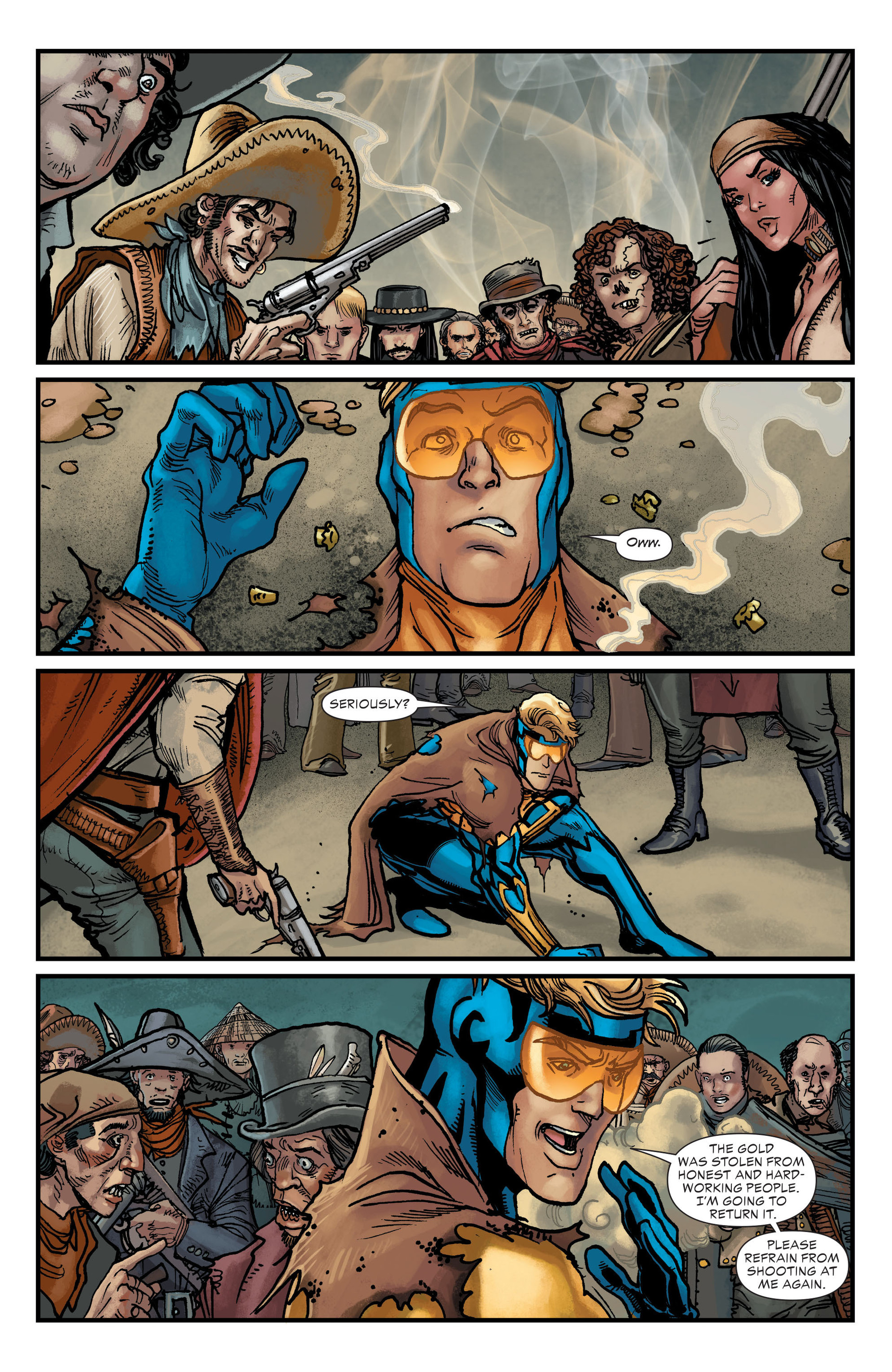 Read online All-Star Western (2011) comic -  Issue #20 - 17