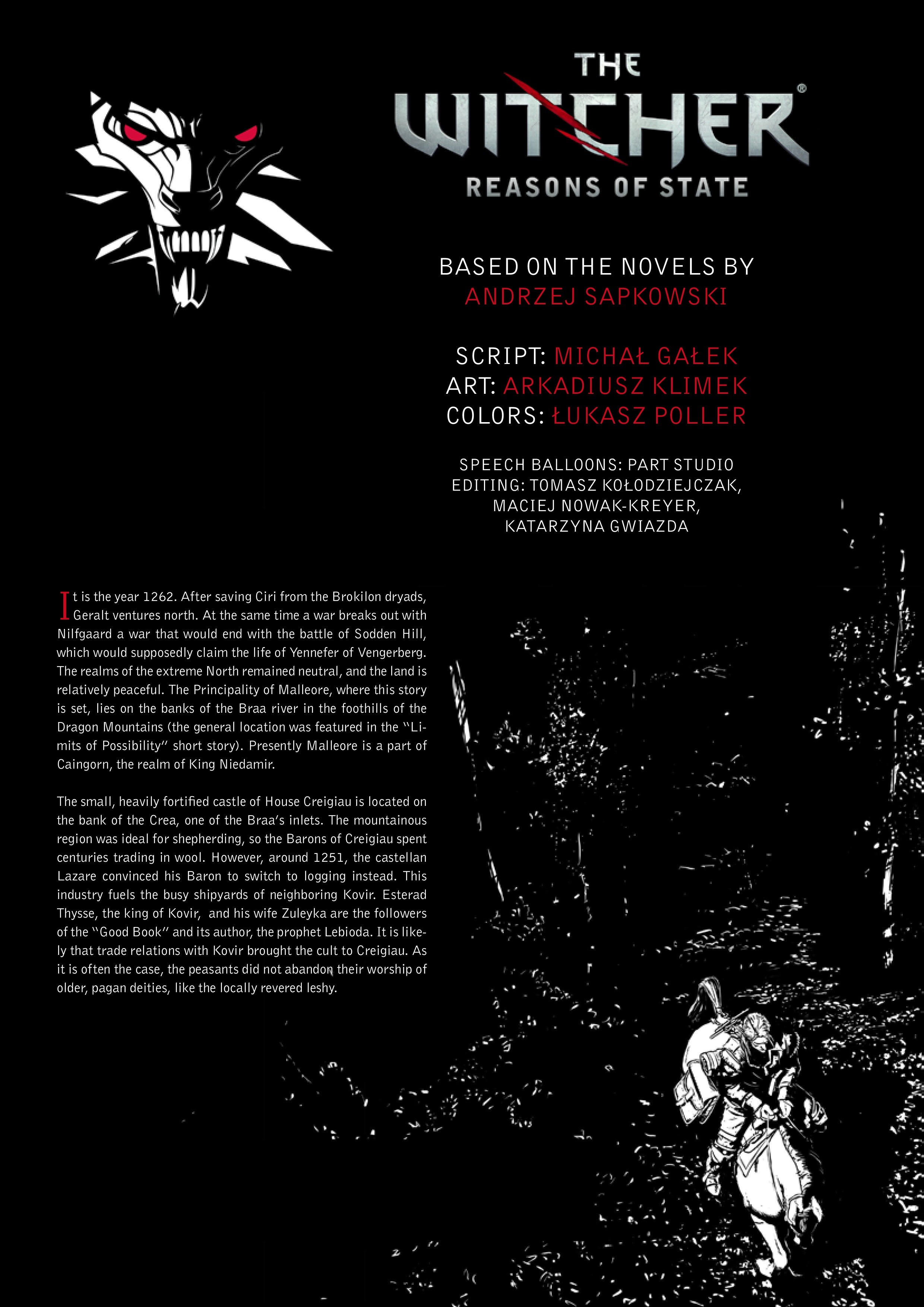 The Witcher: Reasons of State Full Page 2