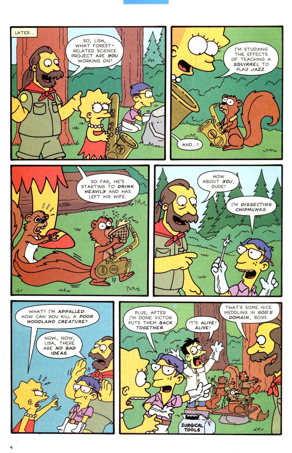 Read online Simpsons Comics comic -  Issue #82 - 20