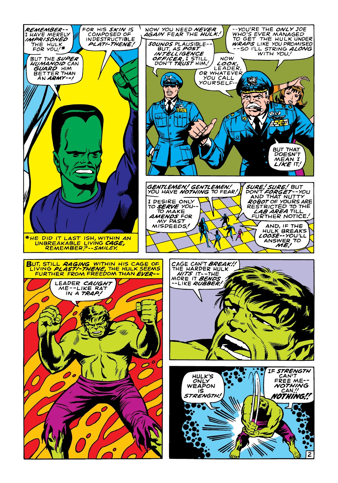 Read online Marvel Masterworks: The Incredible Hulk comic -  Issue # TPB 5 (Part 2) - 13
