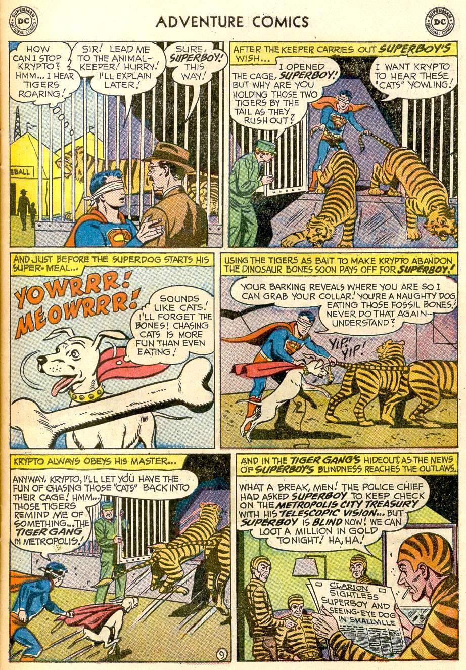 Read online Adventure Comics (1938) comic -  Issue #259 - 11