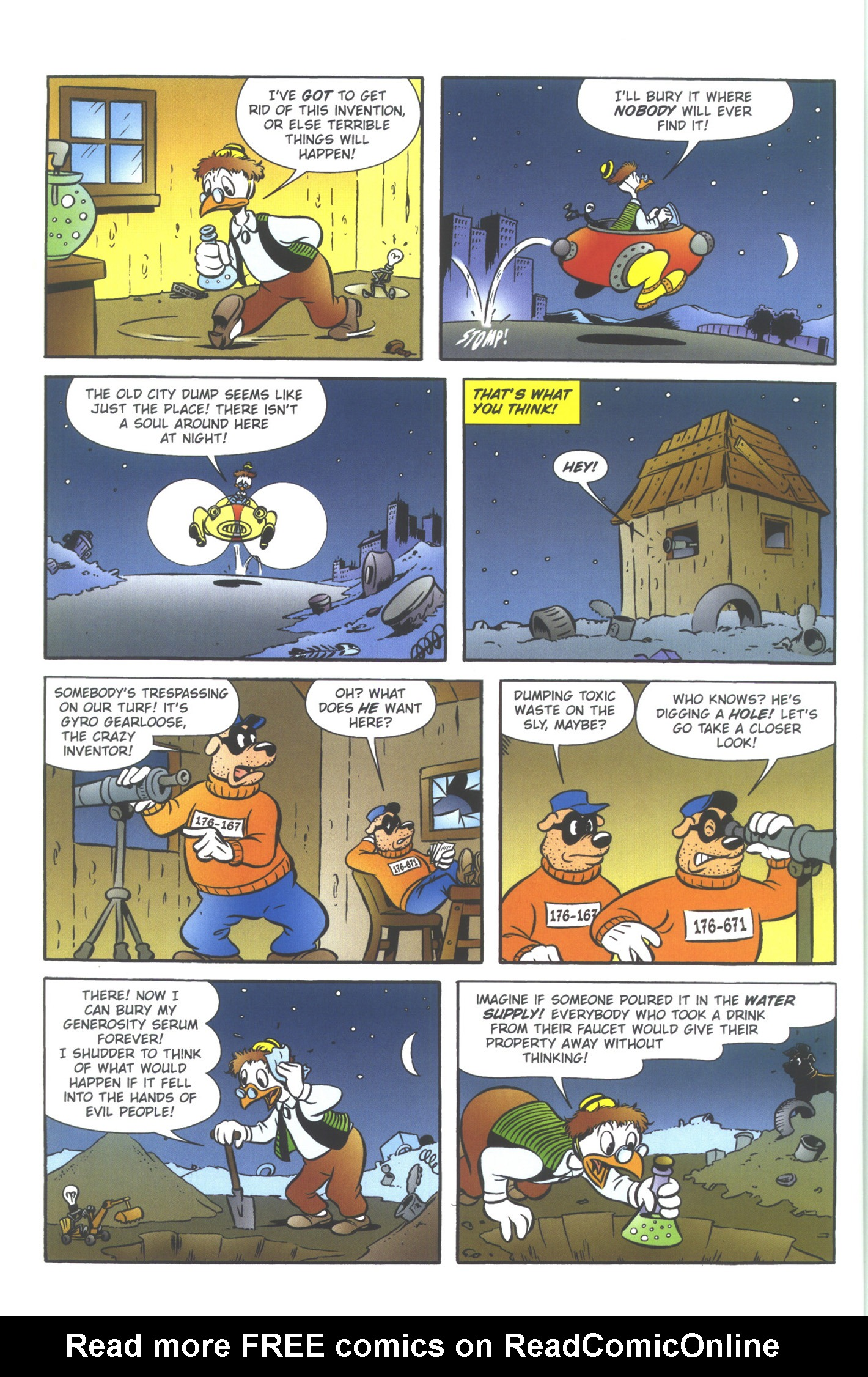 Read online Uncle Scrooge (1953) comic -  Issue #354 - 34