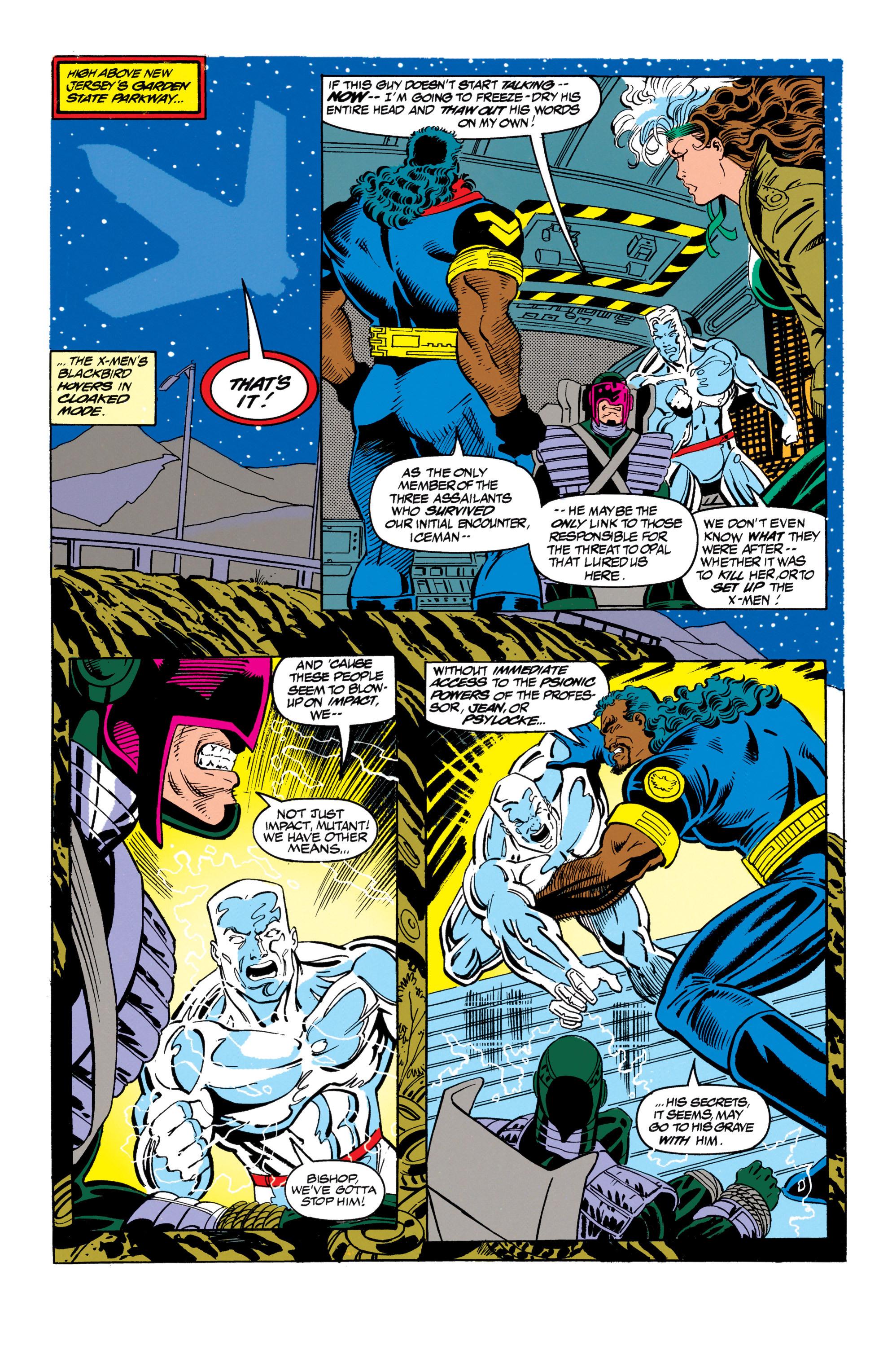 Read online Uncanny X-Men (1963) comic -  Issue #305 - 12