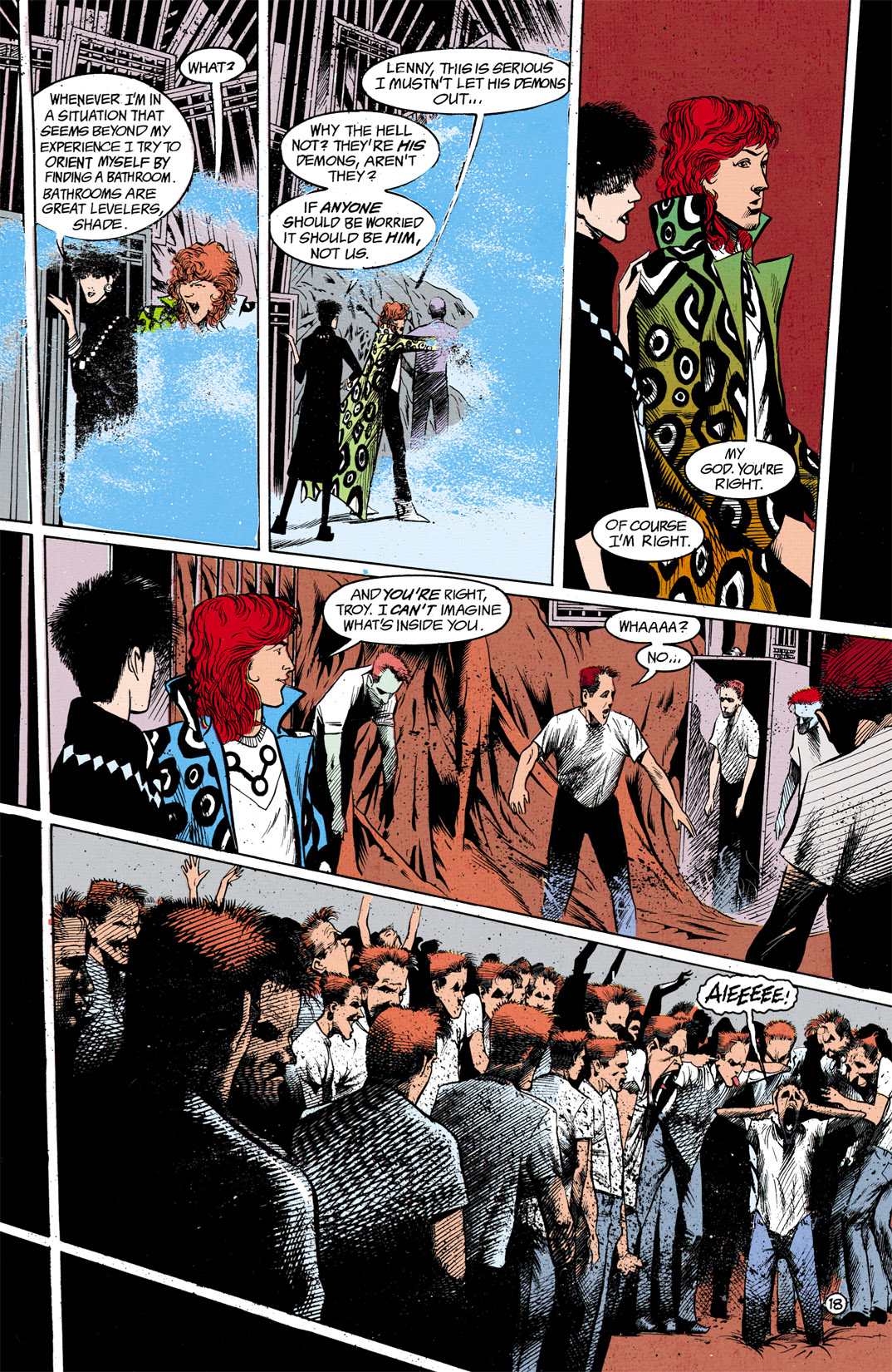 Read online Shade, the Changing Man comic -  Issue #13 - 19