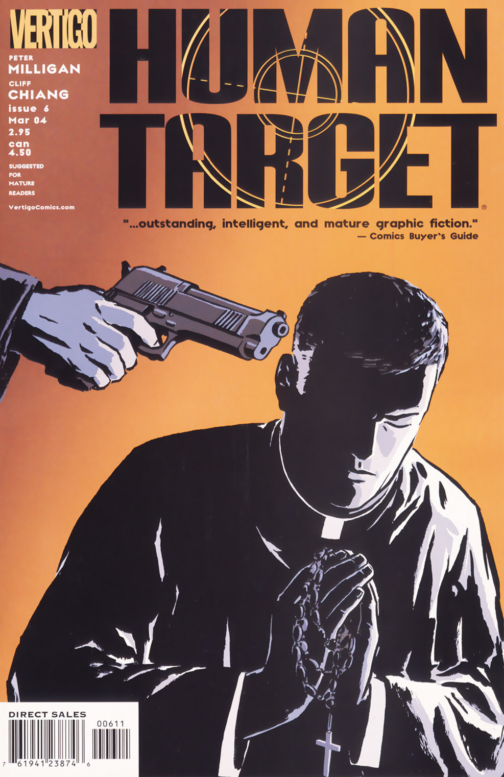 Human Target (2003) issue 6 - Page 1