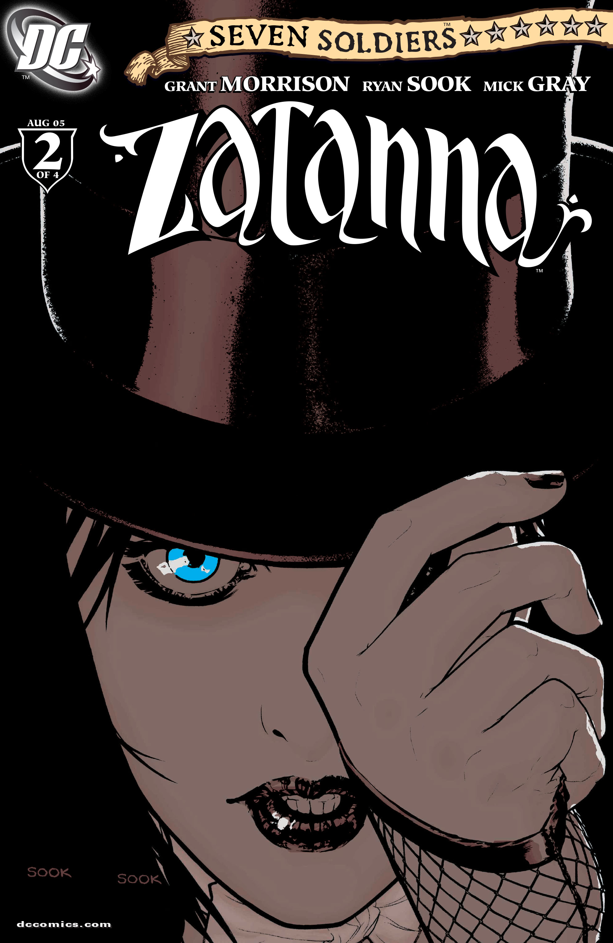 Read online Seven Soldiers: Zatanna comic -  Issue #2 - 1