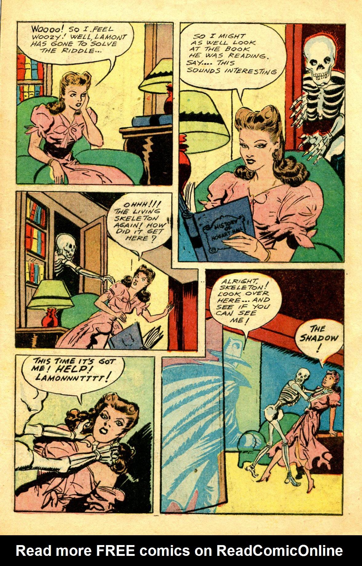 Read online Shadow Comics comic -  Issue #43 - 9