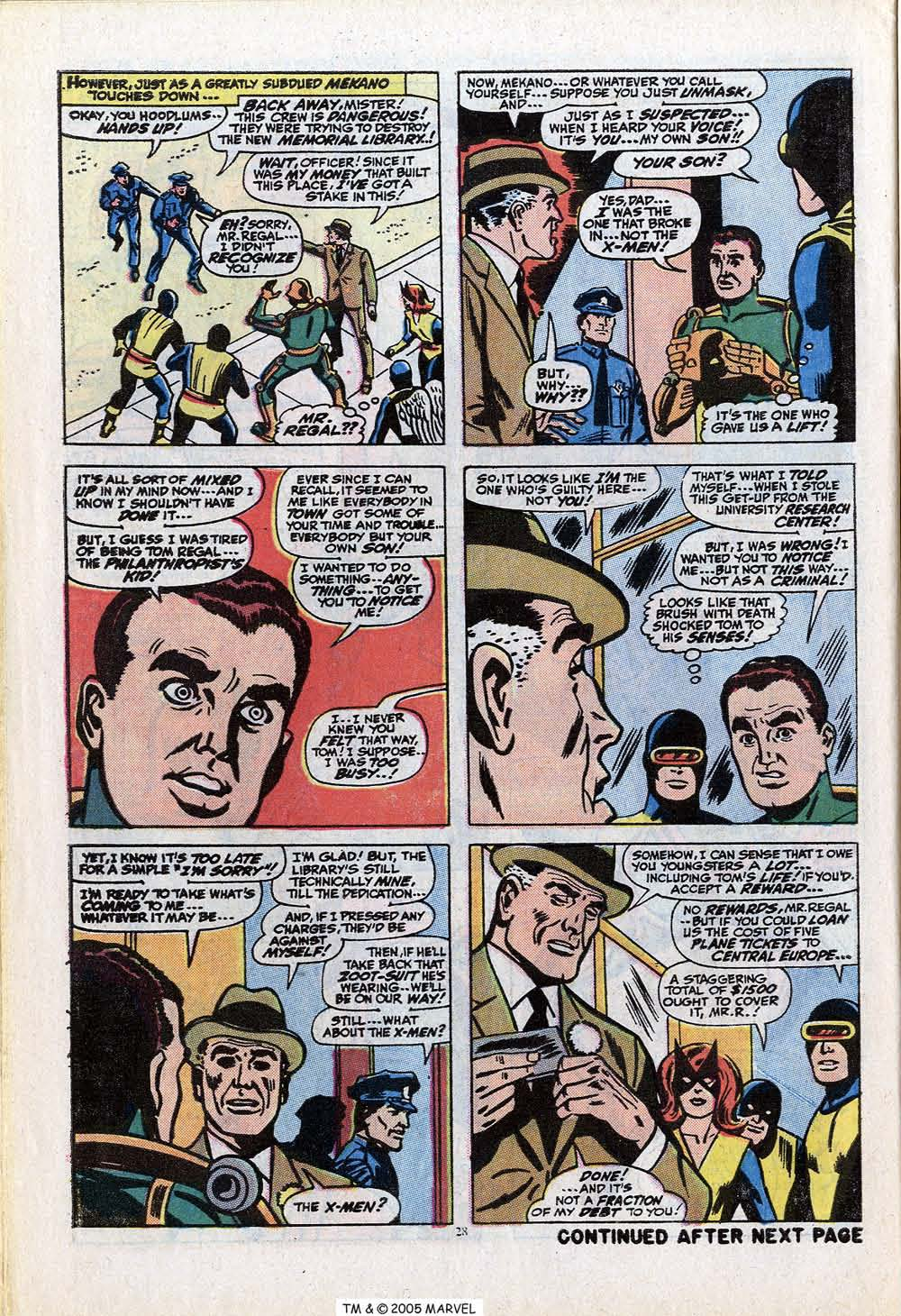 Read online Uncanny X-Men (1963) comic -  Issue #84 - 30