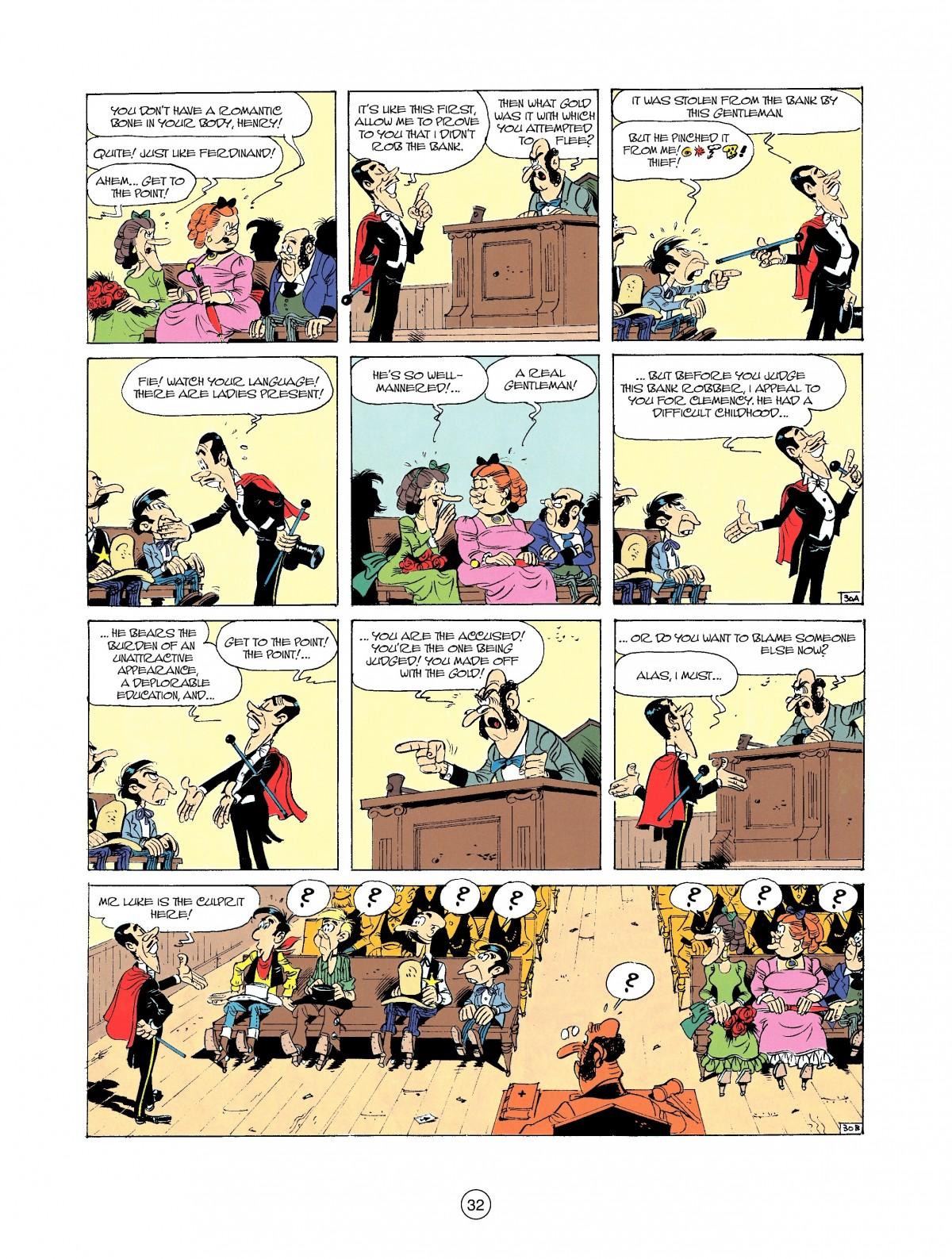Read online A Lucky Luke Adventure comic -  Issue #37 - 32