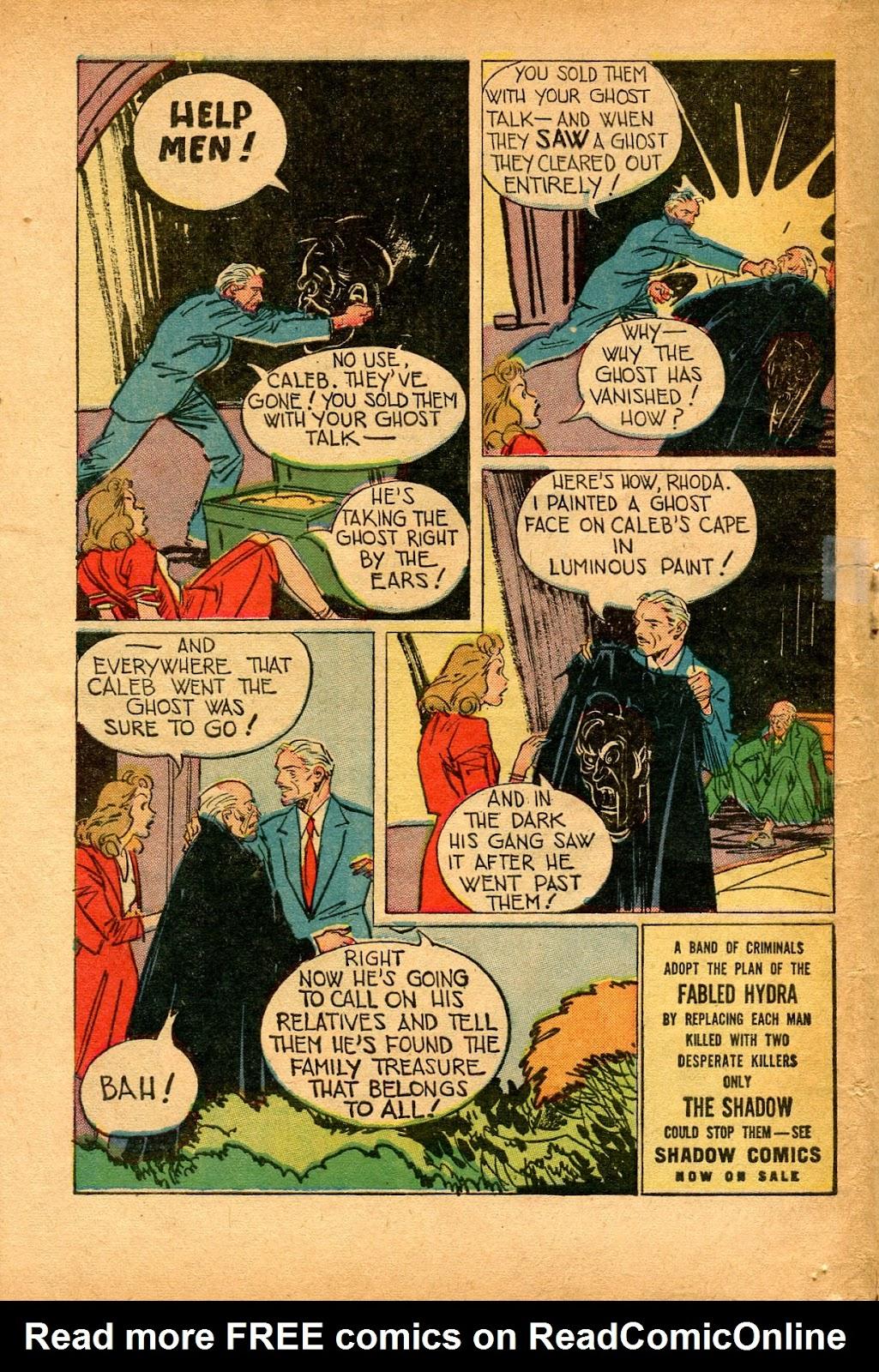 Read online Super-Magician Comics comic -  Issue #33 - 46