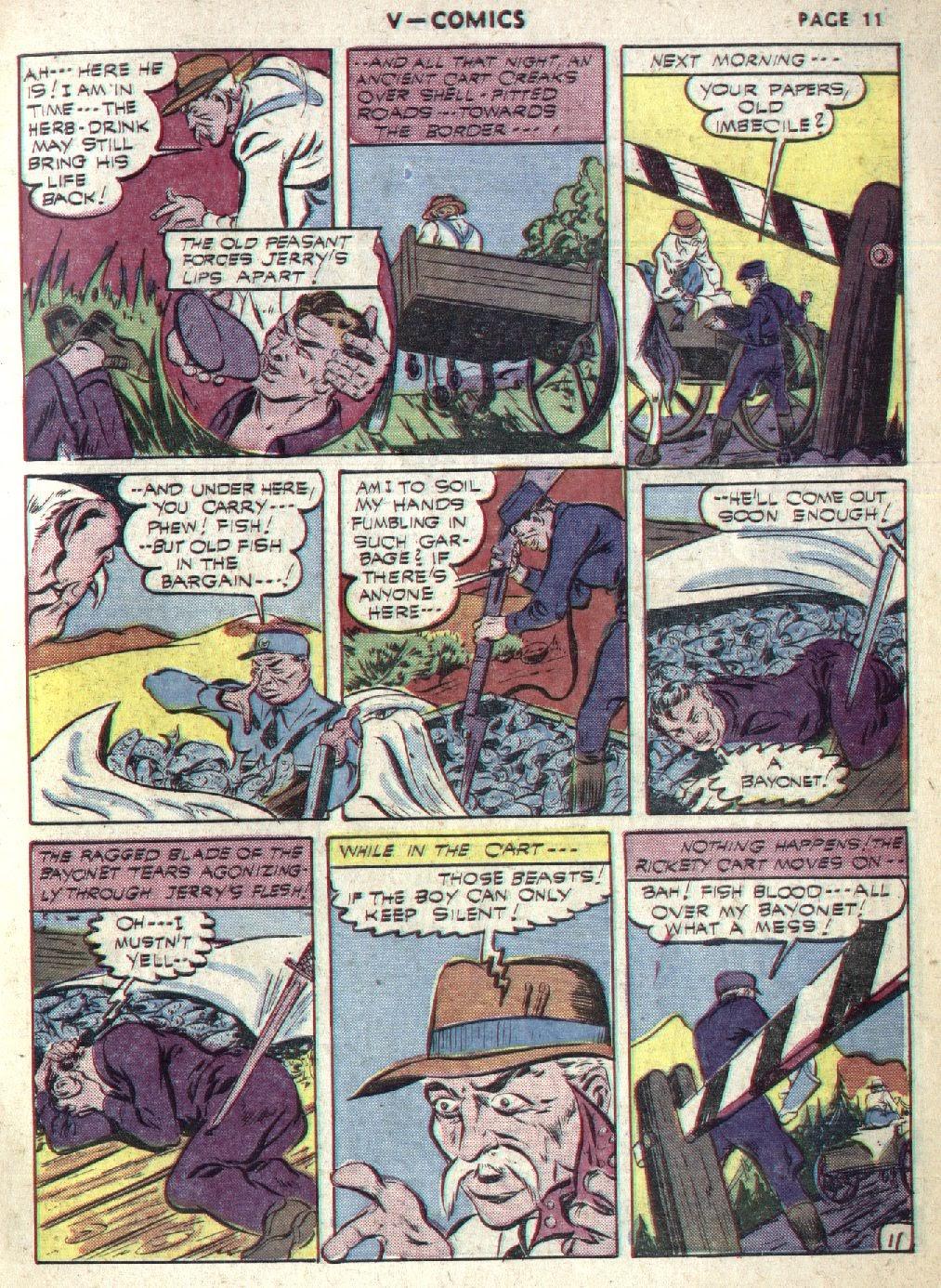 Read online V...- Comics comic -  Issue #1 - 13