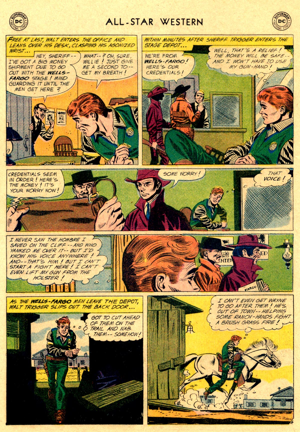 Read online All-Star Western (1951) comic -  Issue #112 - 30