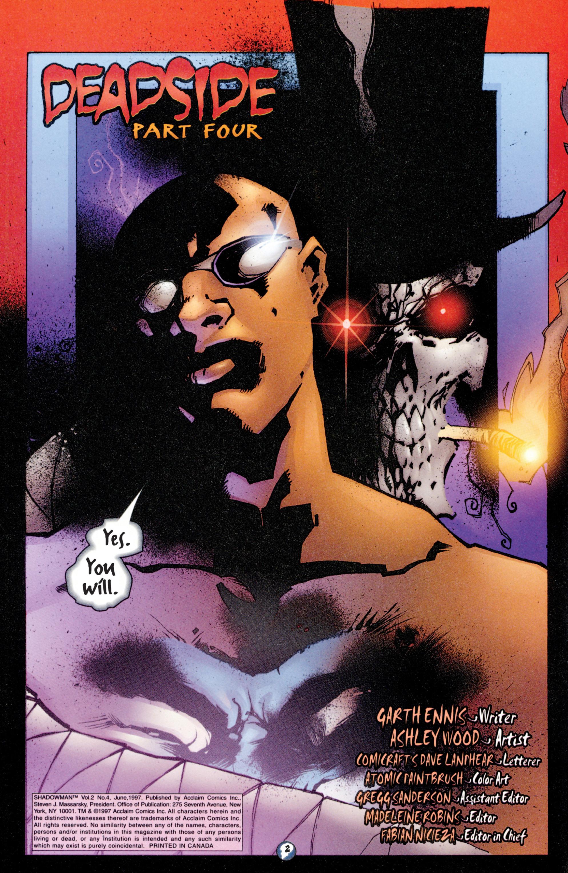 Read online Shadowman (1997) comic -  Issue #4 - 3