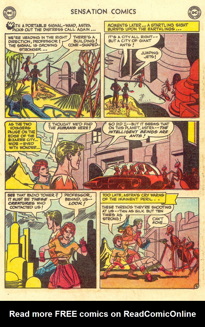 Read online Sensation (Mystery) Comics comic -  Issue #105 - 31
