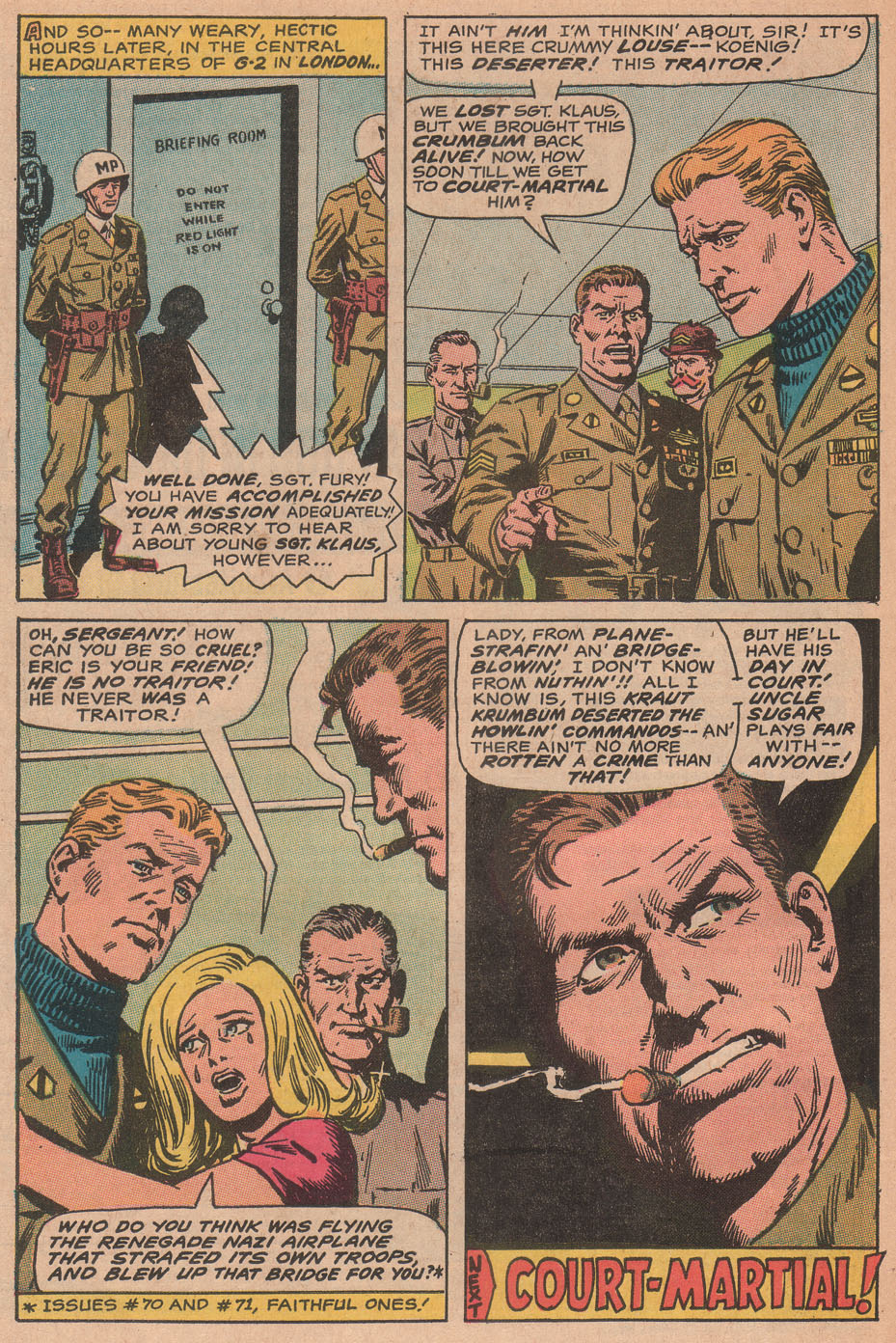 Read online Sgt. Fury comic -  Issue #78 - 32