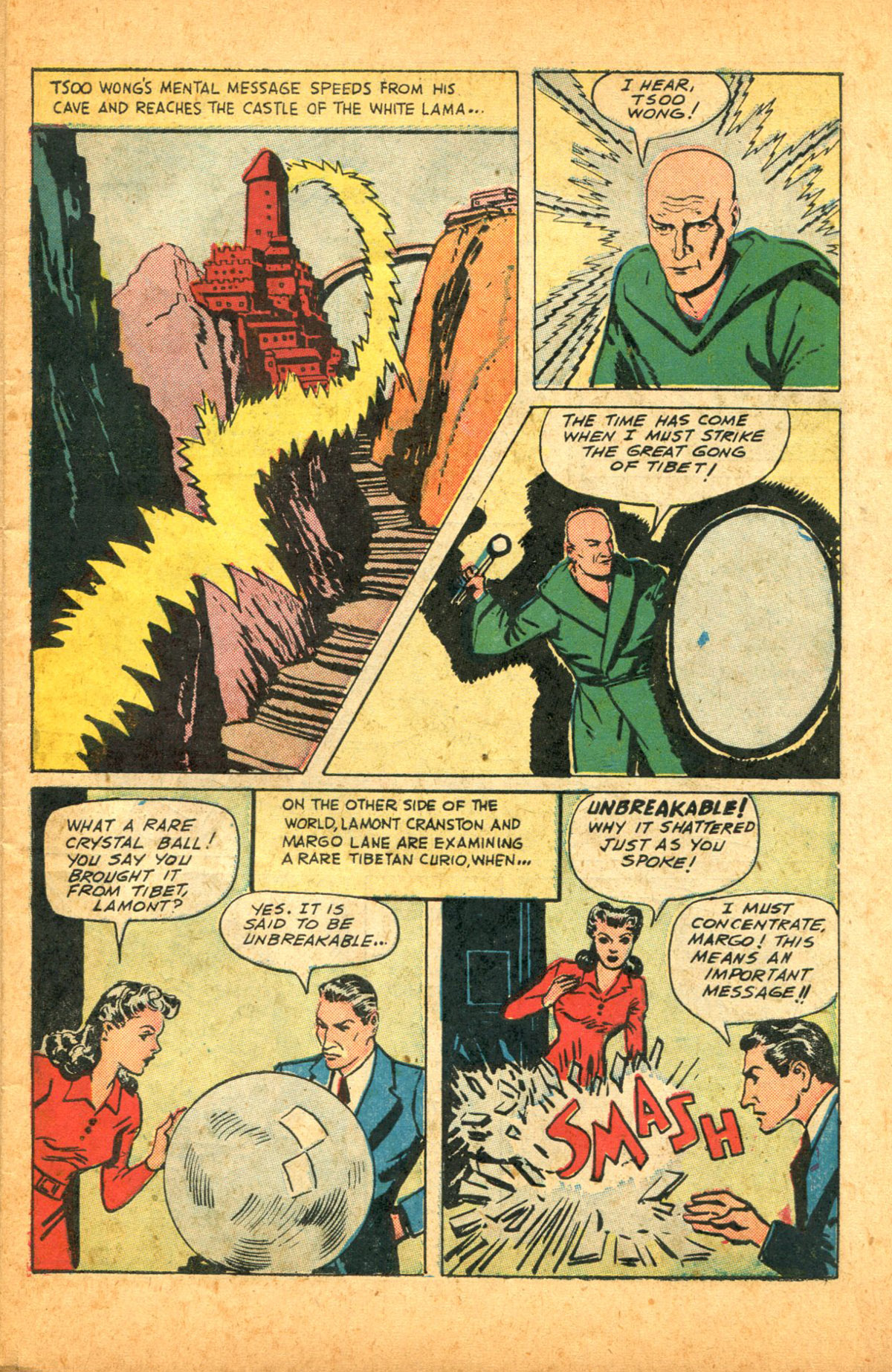 Read online Shadow Comics comic -  Issue #38 - 5