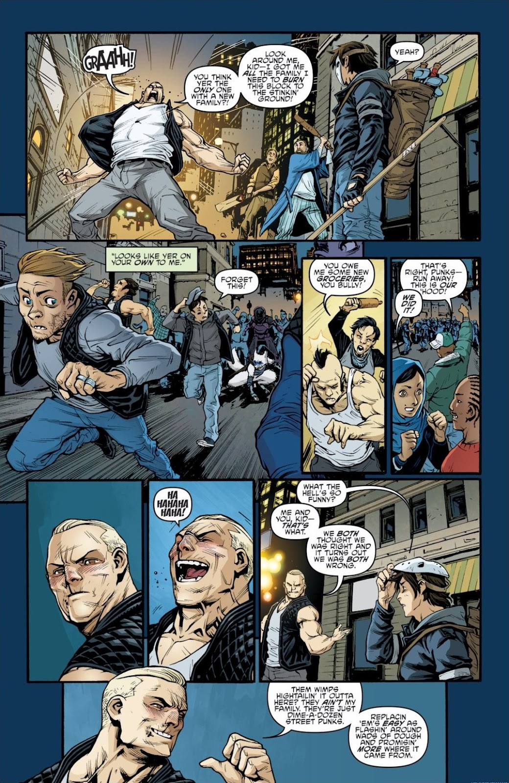 Read online Teenage Mutant Ninja Turtles: The IDW Collection comic -  Issue # TPB 6 (Part 2) - 77