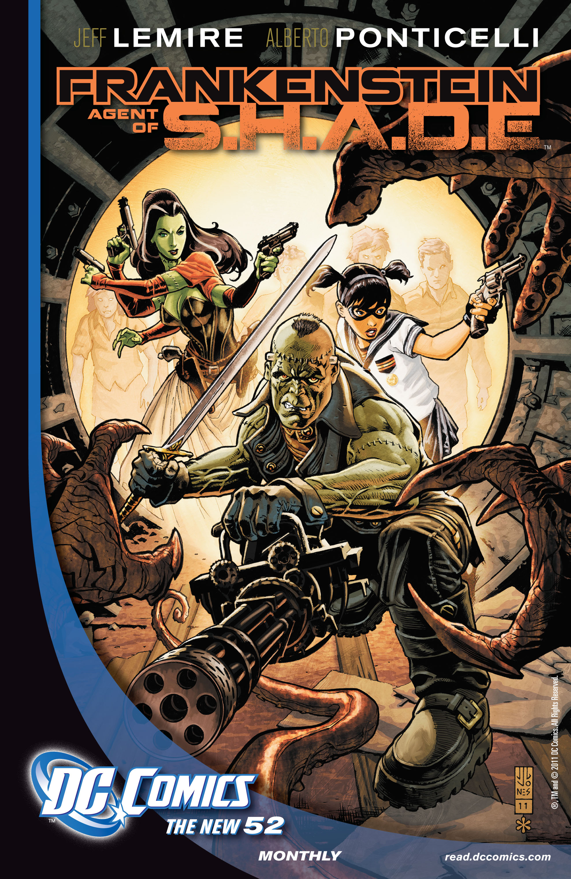 Read online All-Star Western (2011) comic -  Issue #4 - 29