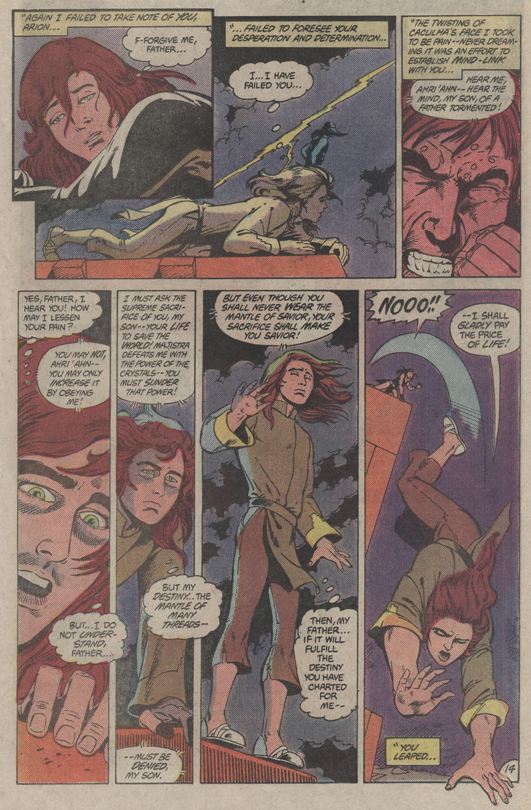 Read online Arion, Lord of Atlantis comic -  Issue #4 - 14