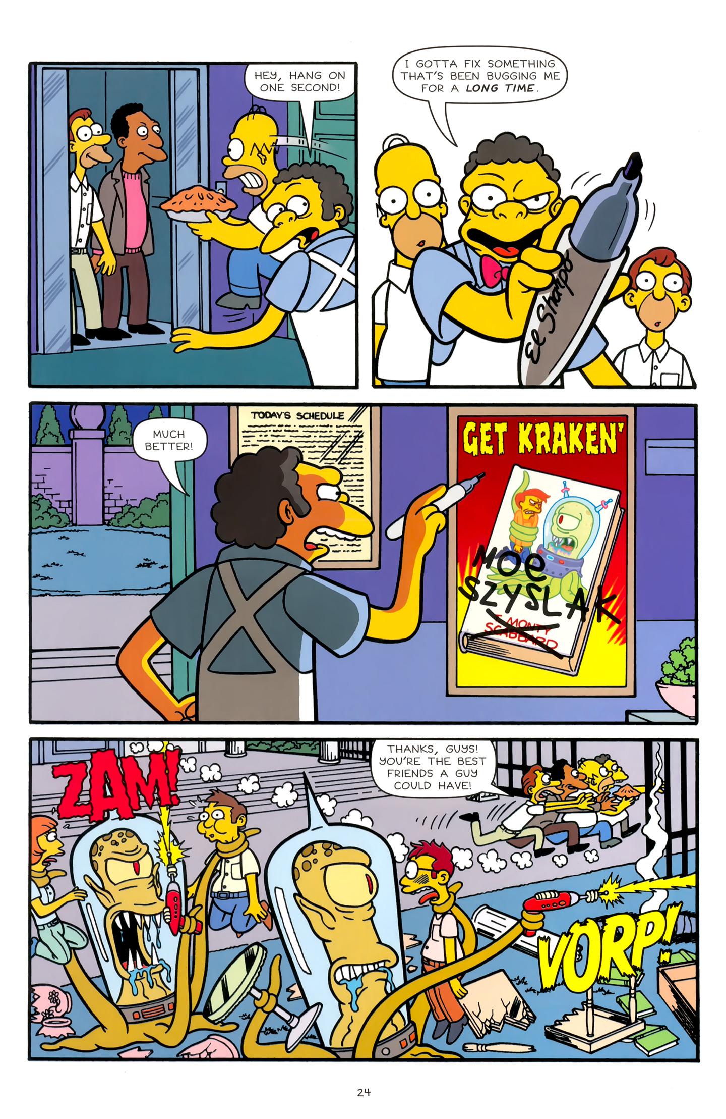 Read online Simpsons Comics comic -  Issue #179 - 20
