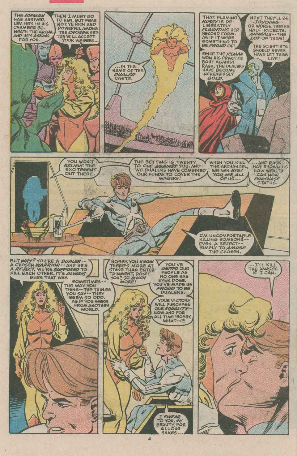 Read online X-Factor (1986) comic -  Issue #49 - 4